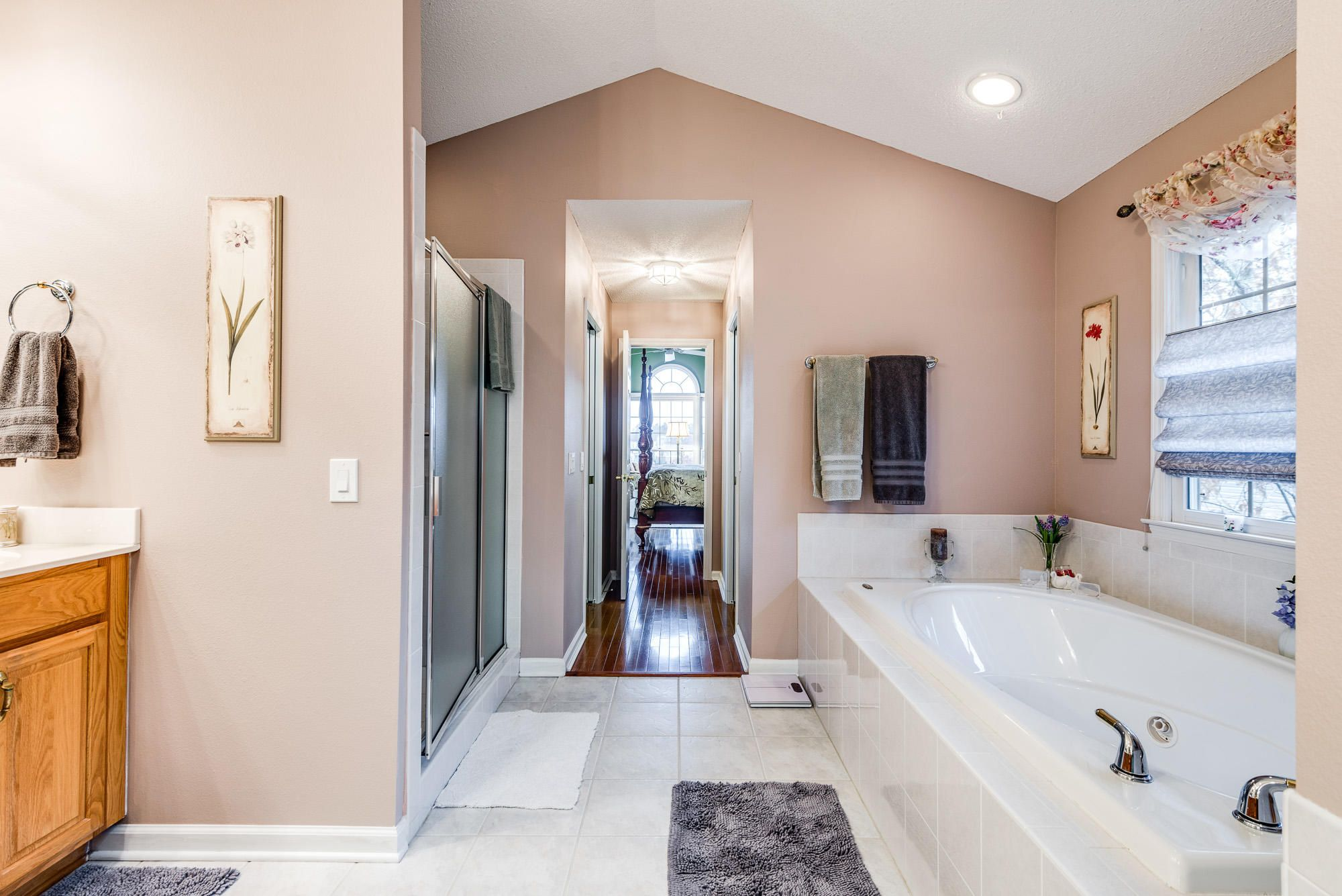 Master Bathroom to Master