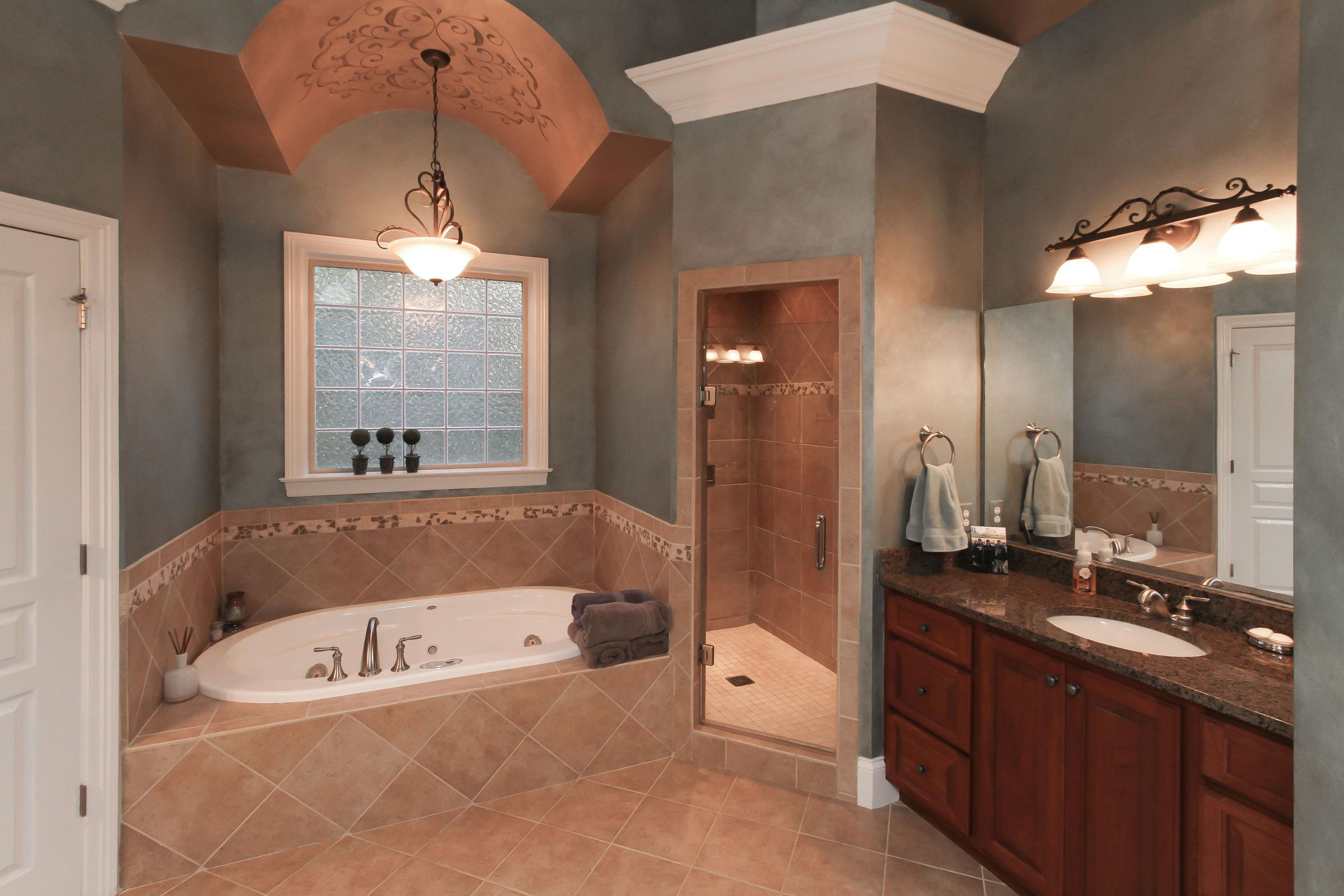 16 - Master Bath with Walk-in Shower & J
