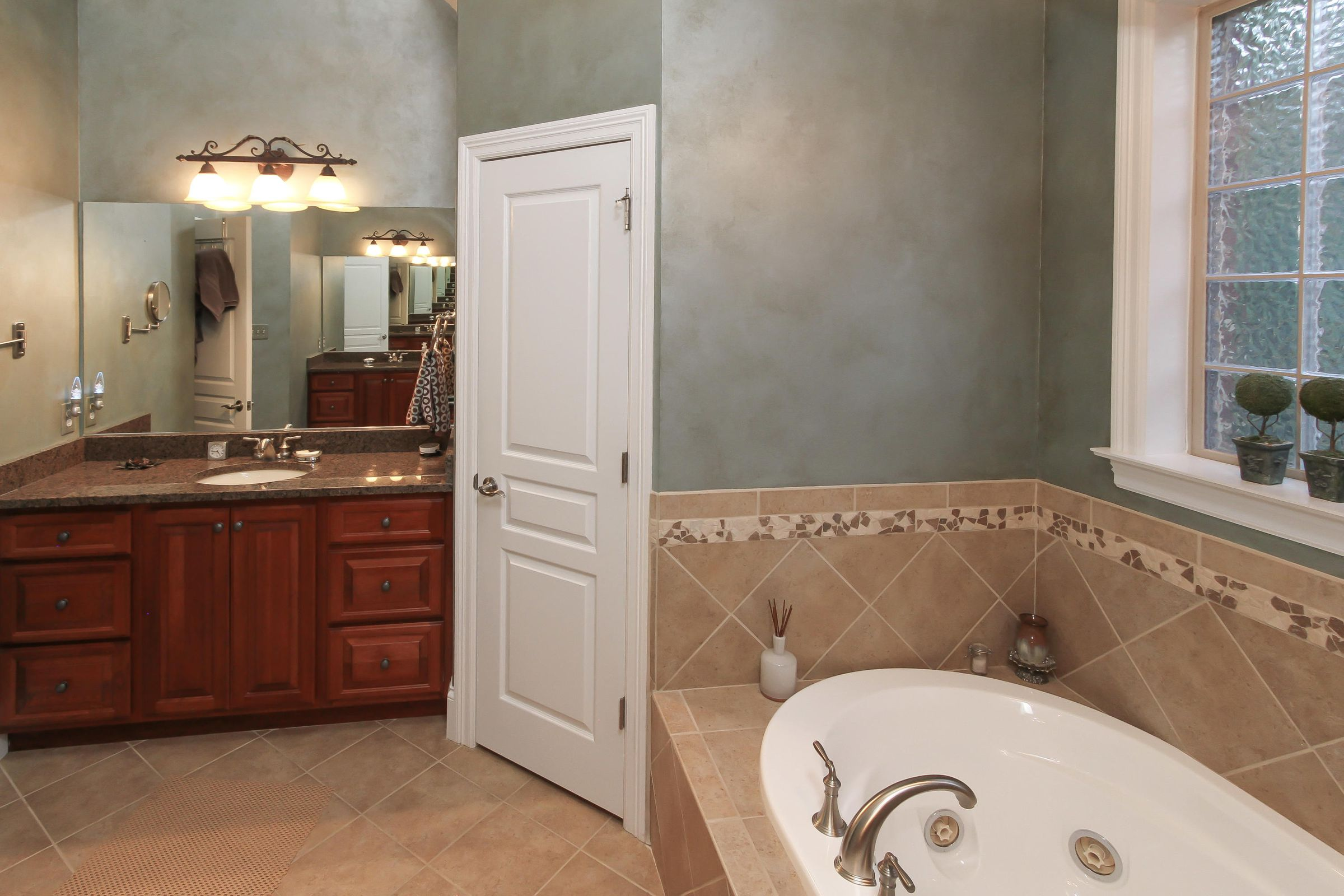 17 - Master Bath with Separate Vanities