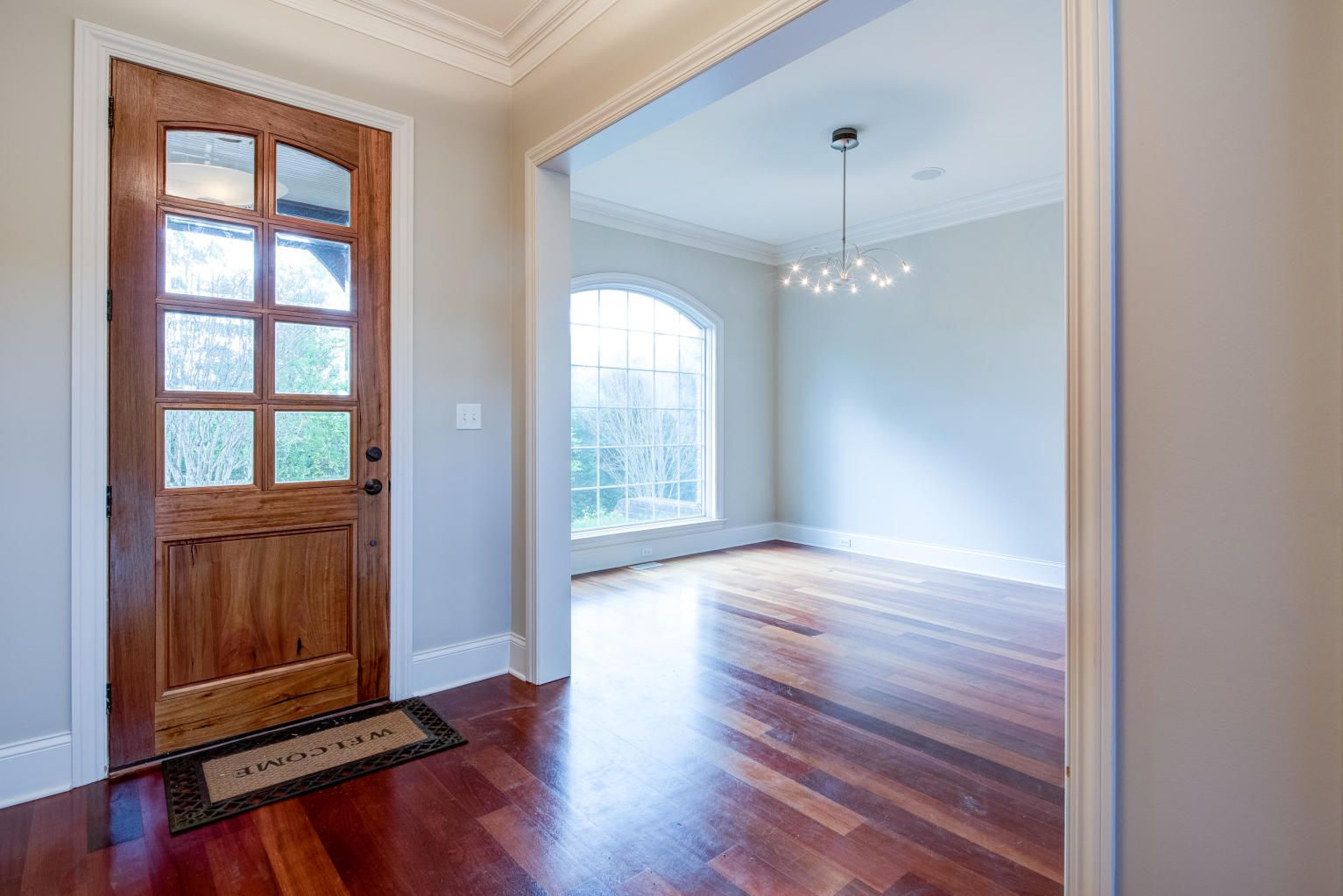 Entryway - open to Dining Room