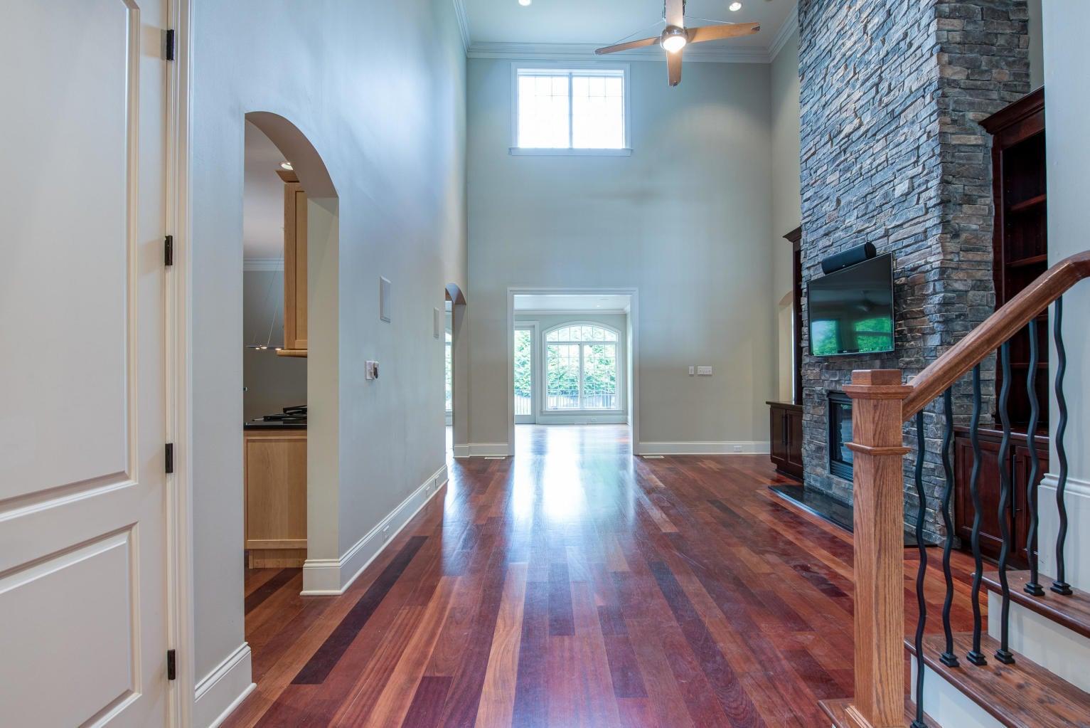 Great Room -w/Stone Fireplace