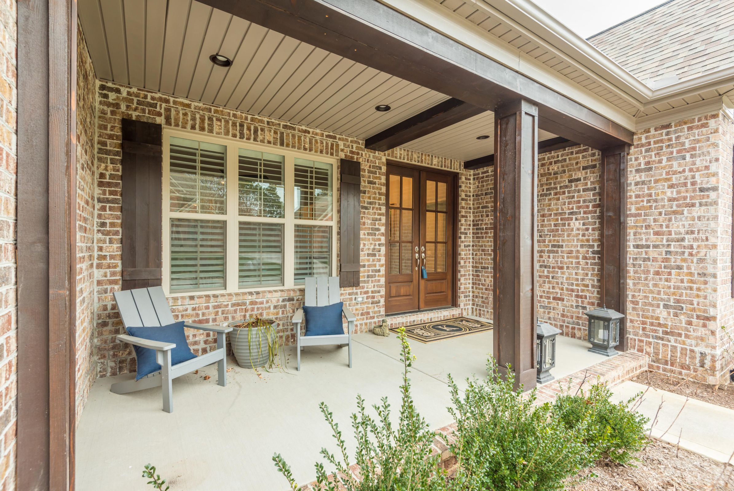 Large Covered Front Porch