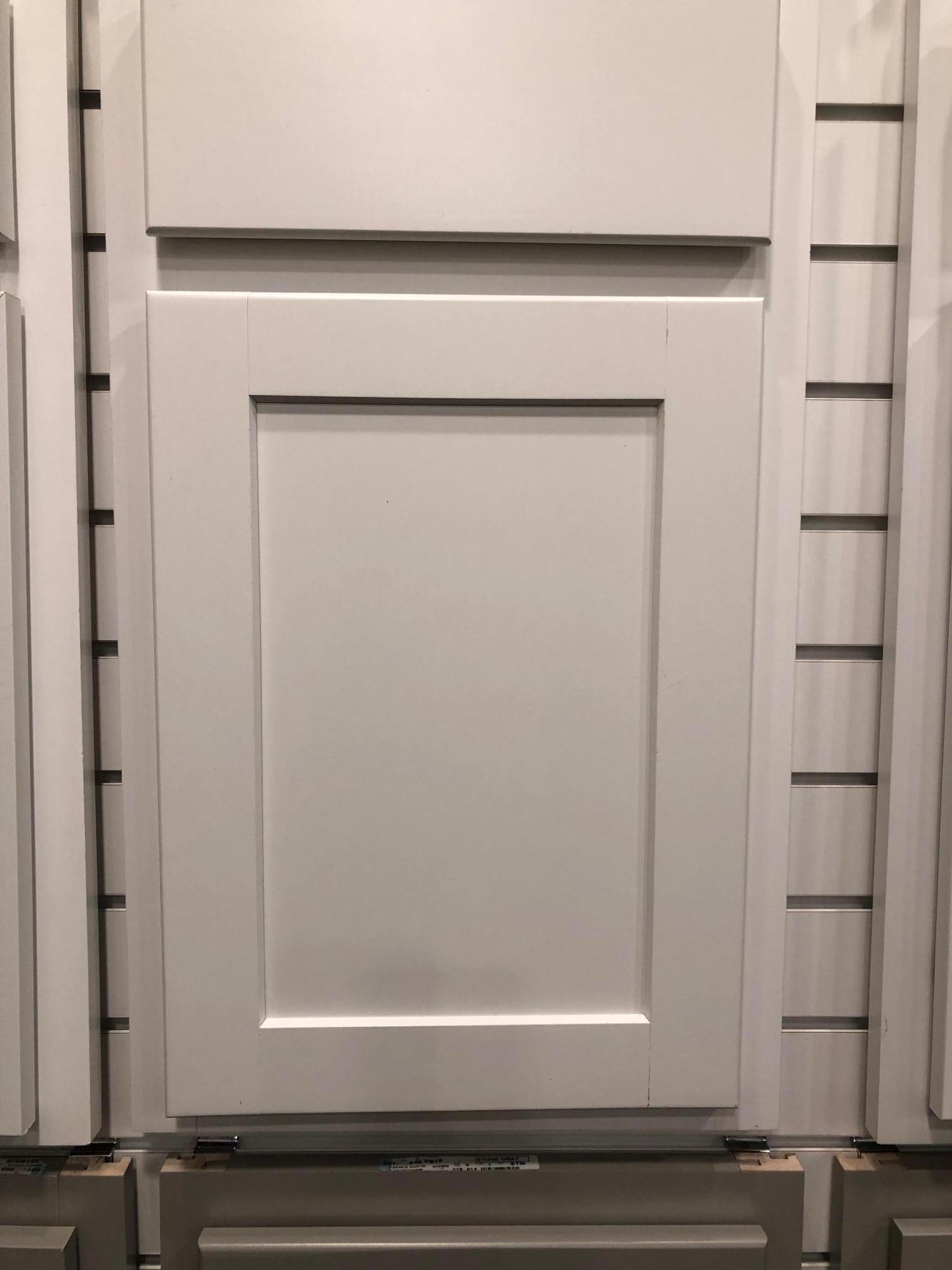 Benton white cabinets