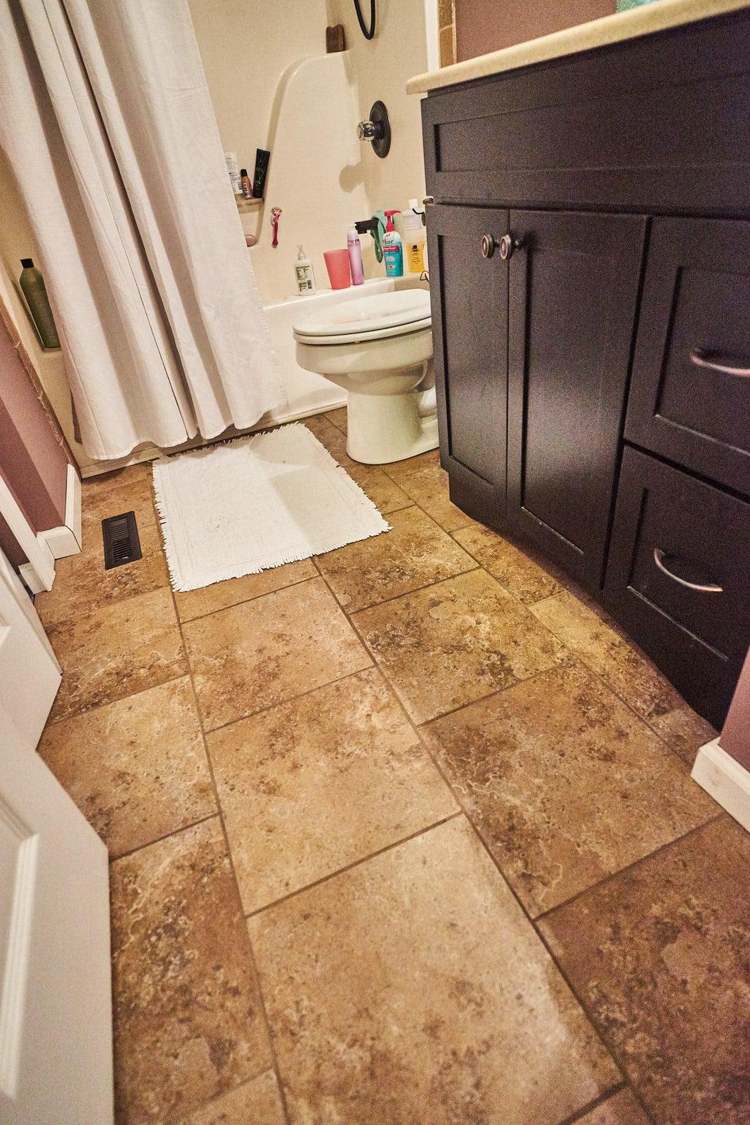 Guest Bath tile