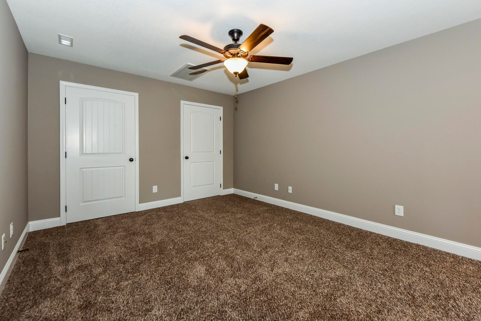 Bonus room in basement
