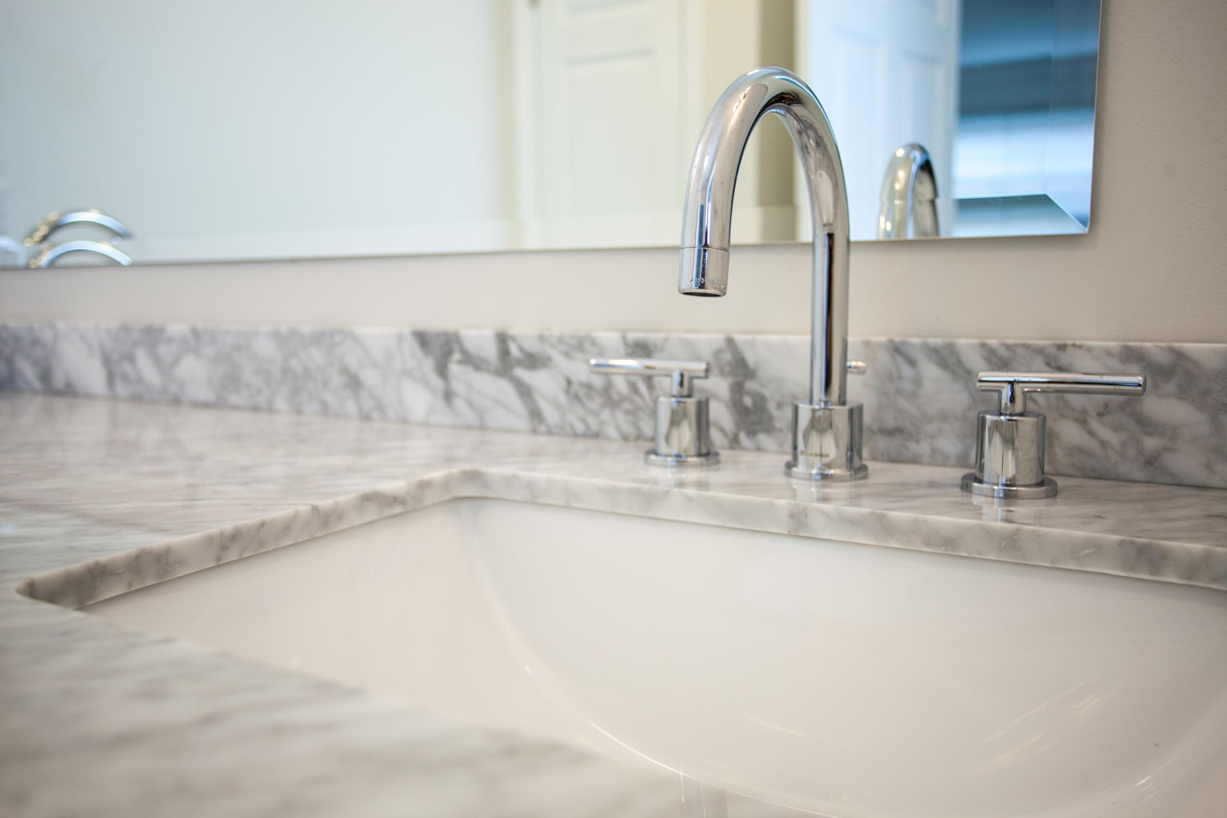 master bath vanity and plumbing