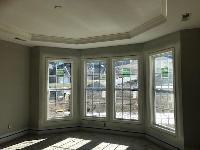 Master with bay window