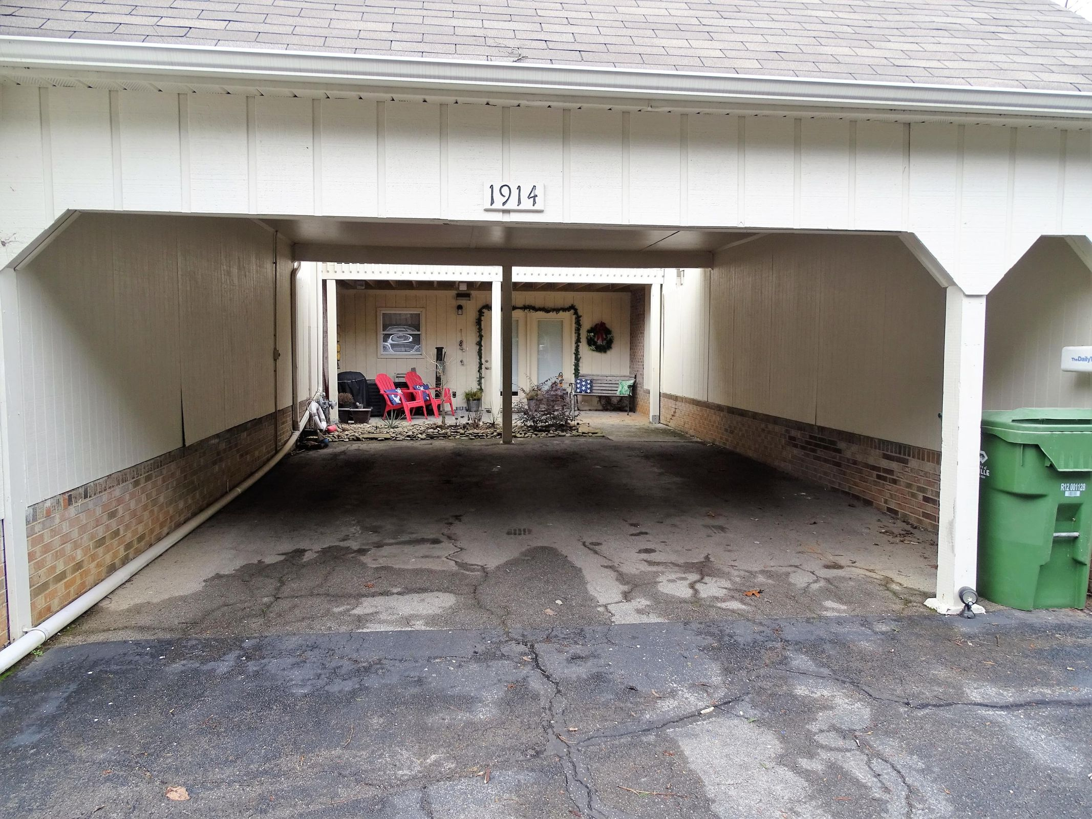 4 - 2 Car Carport