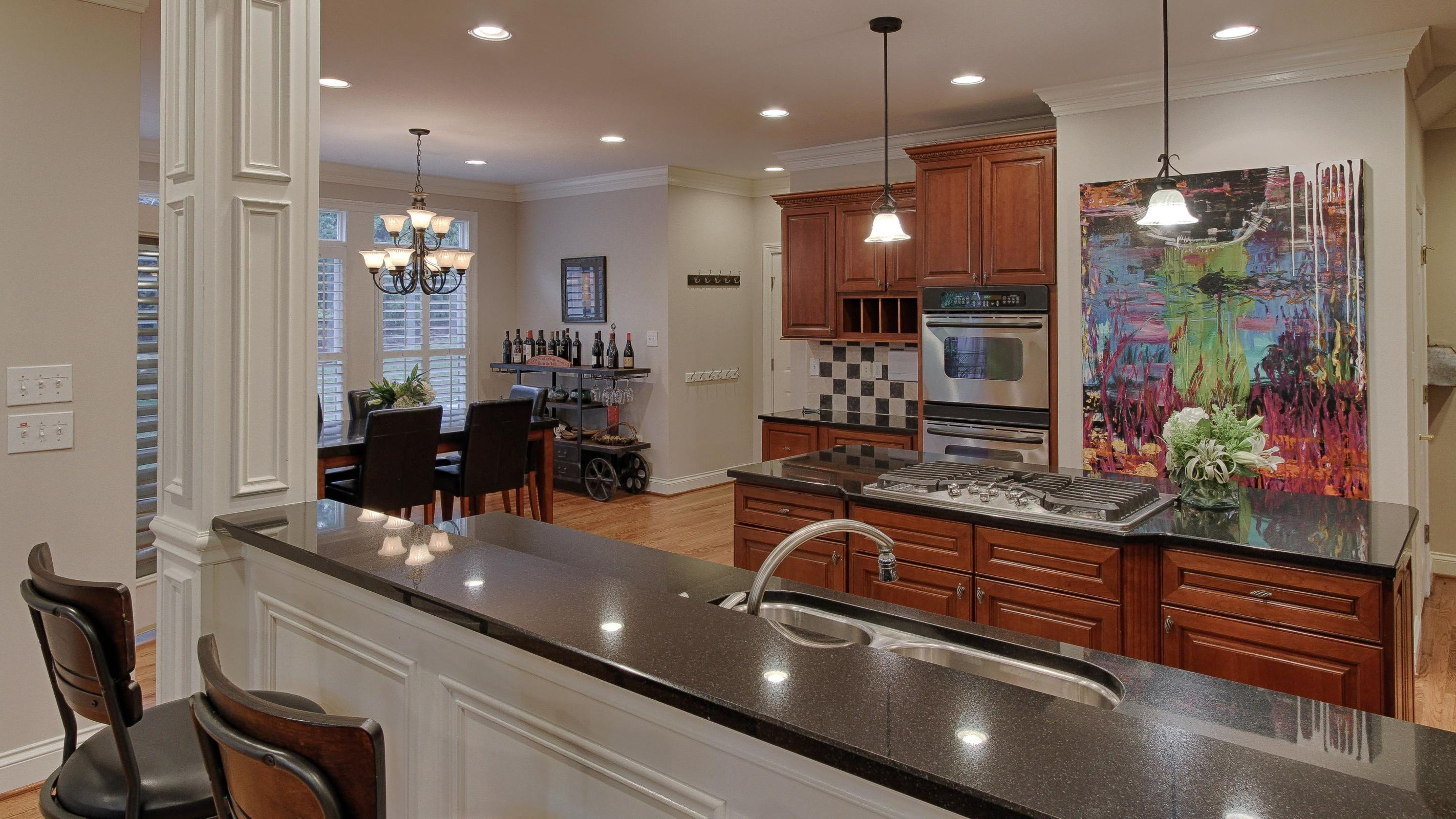 Spacious Open Kitchen and Dining