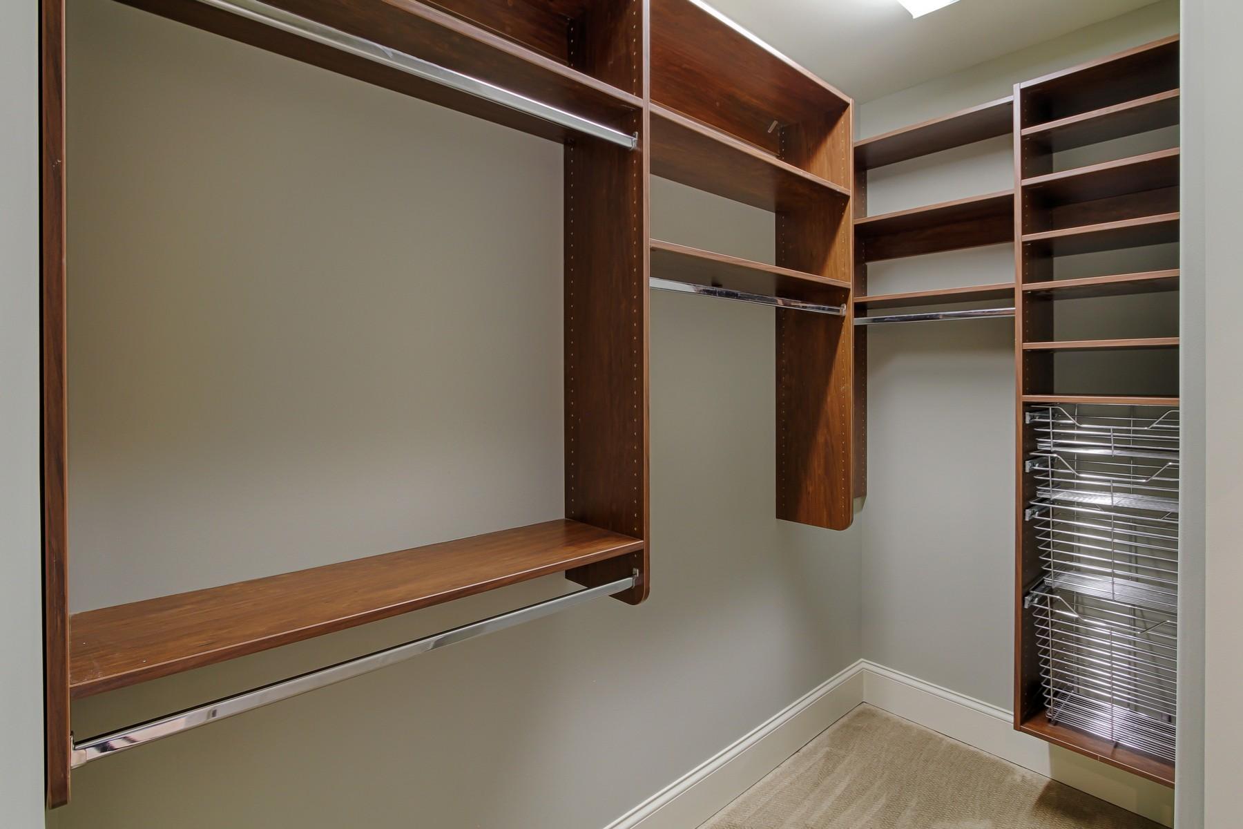 Separate designer closets
