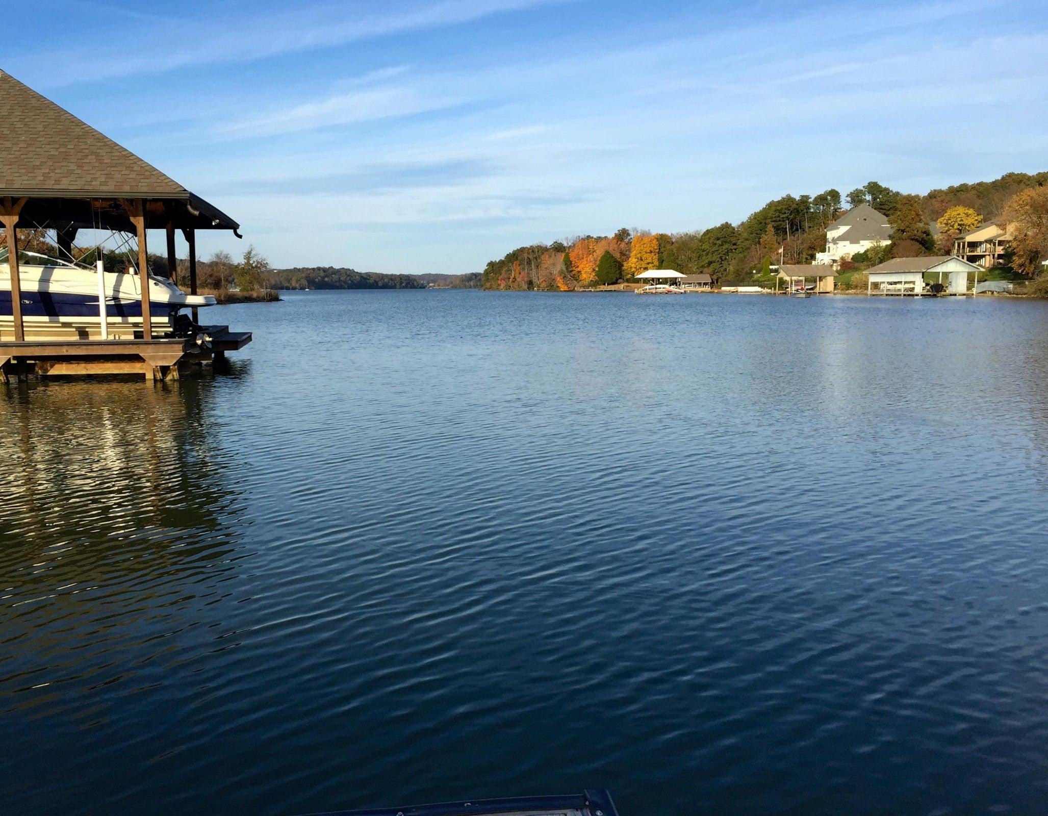 View from neighborhood pier