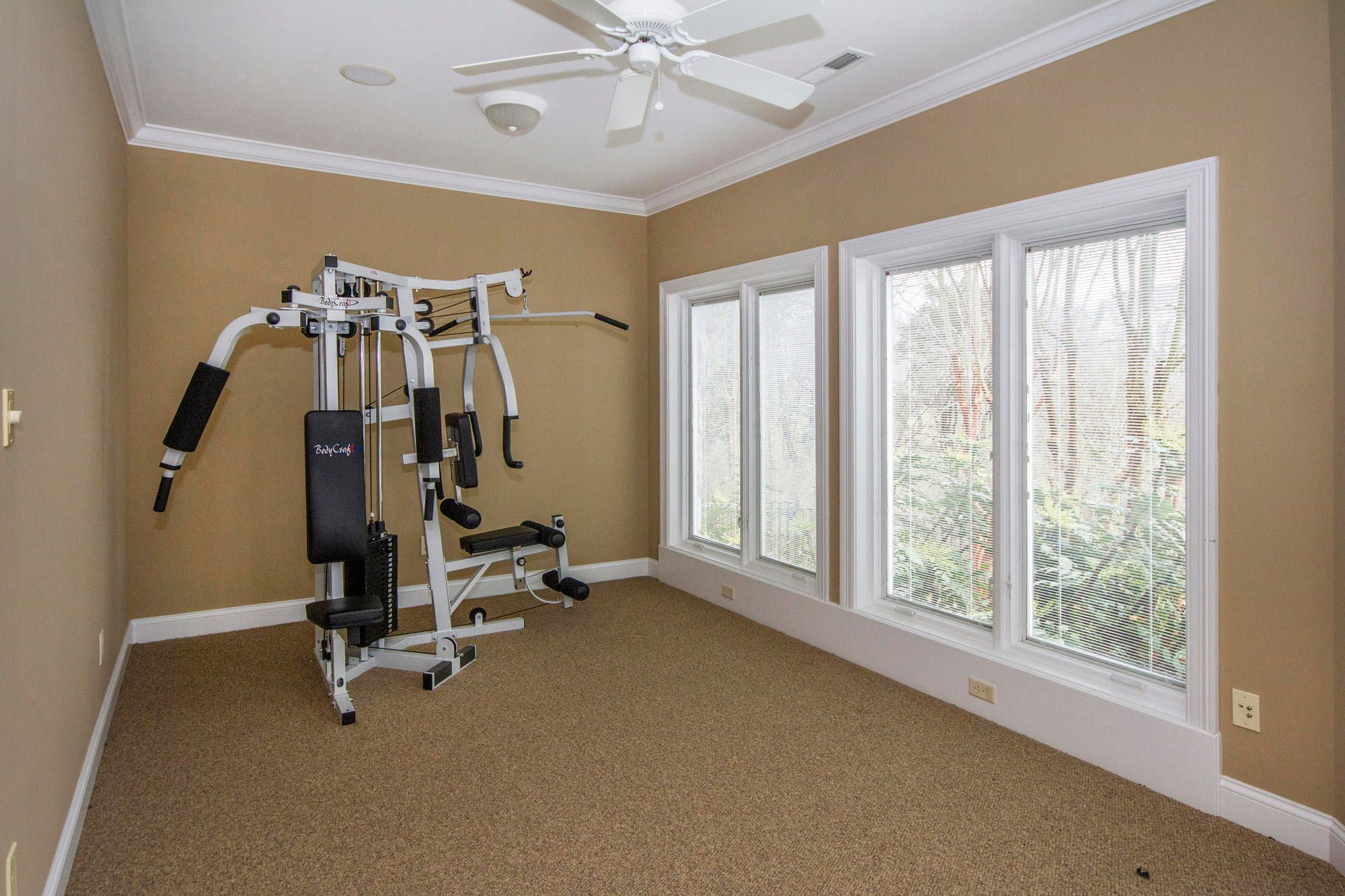 Exercise Room with Lake View!