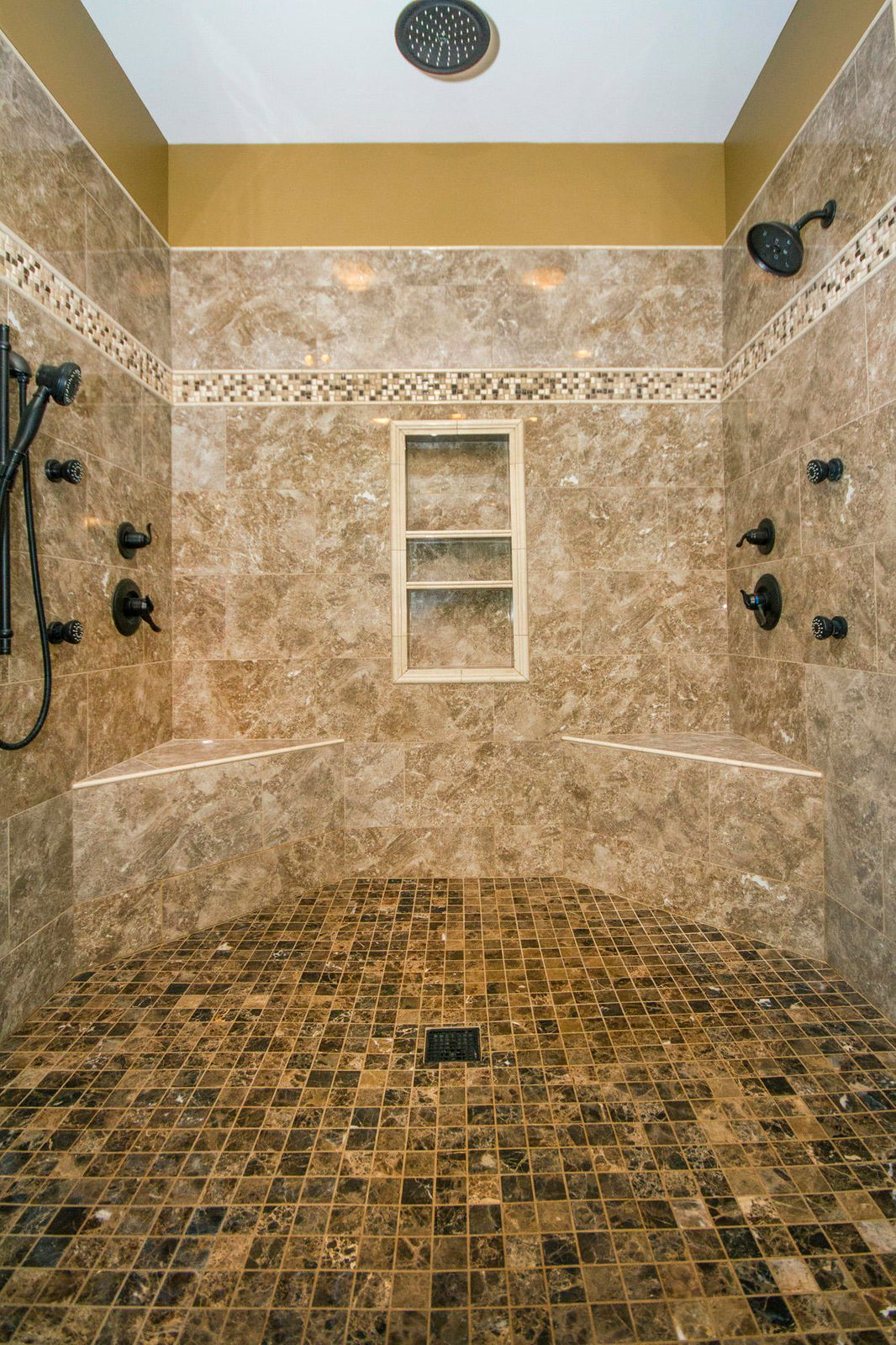 Gorgeous New Tile Shower/Spa!