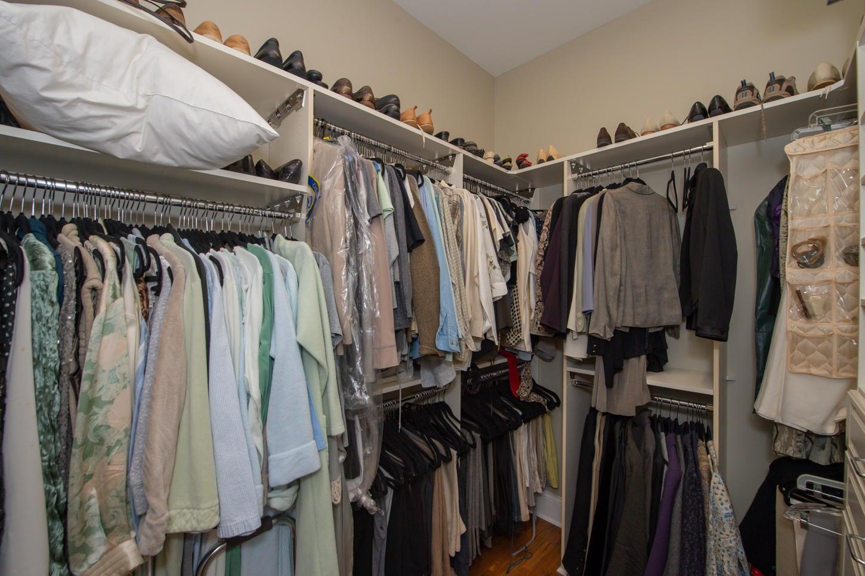 Spacious Master Closet