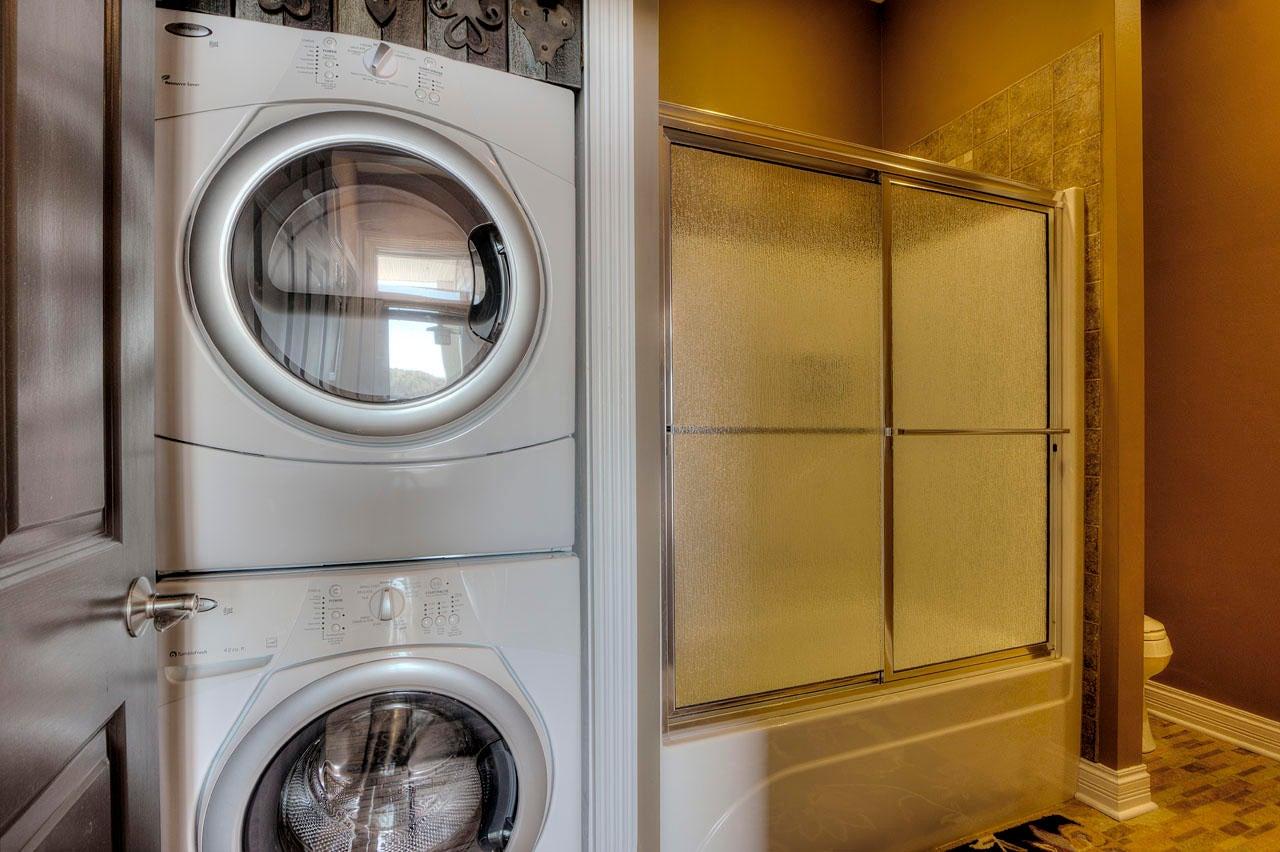 Lower Level Laundry / Full Bath