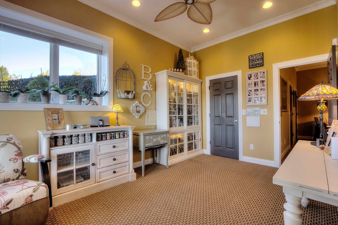 Lower Level Craft Room / Bedroom 5