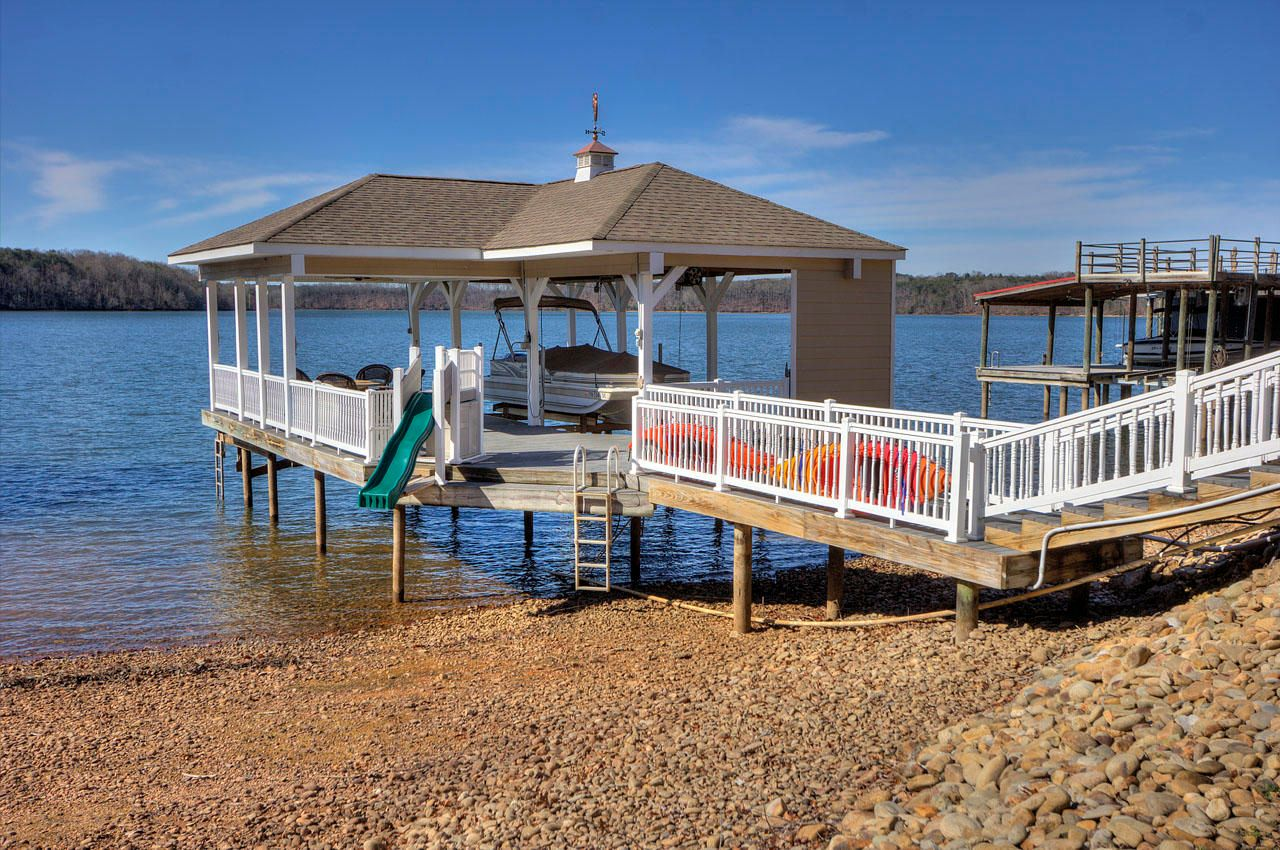 Large Covered Dock