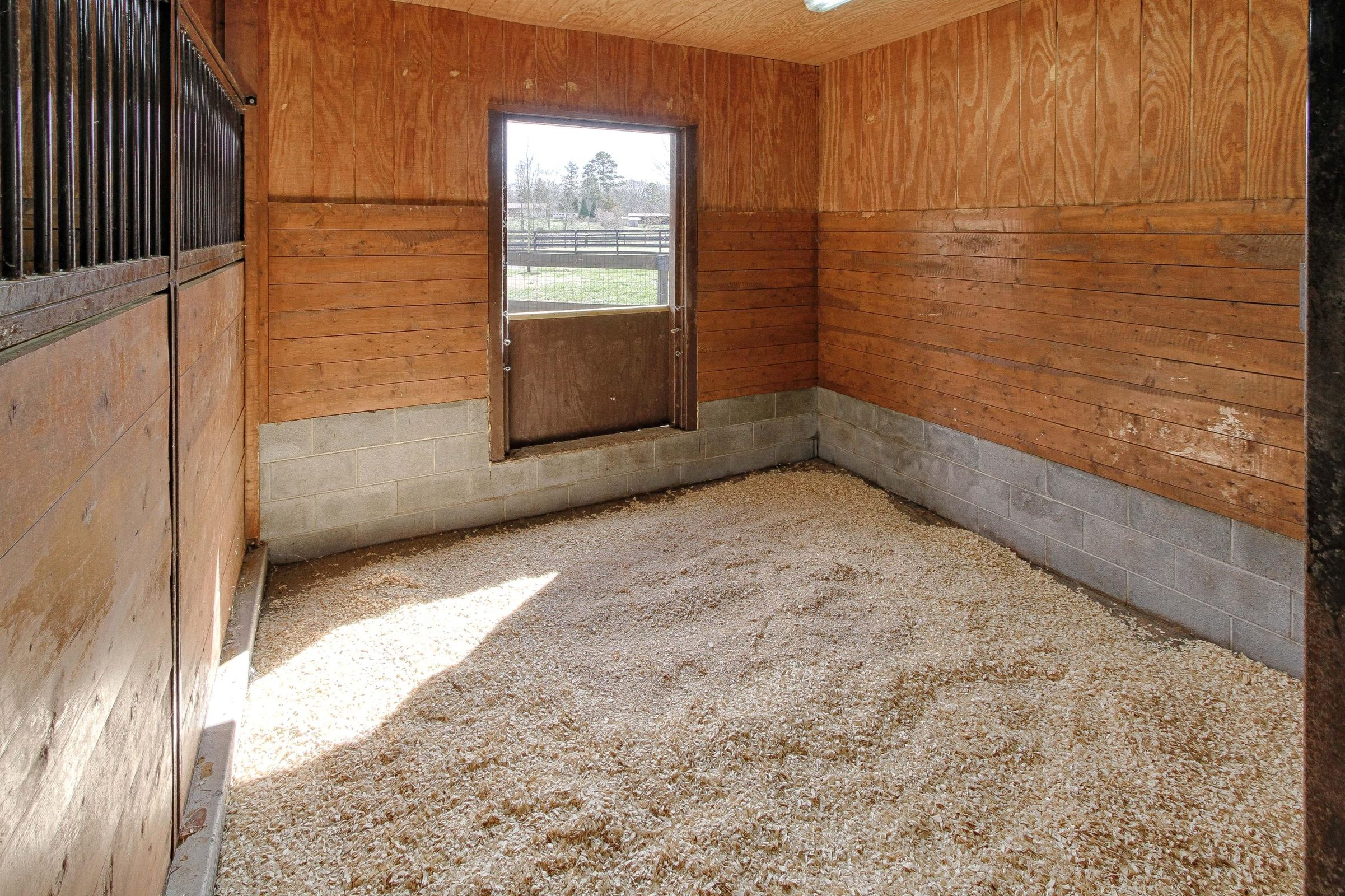 stall area