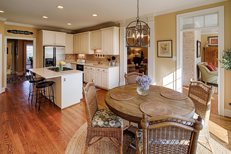 12 - Kitchen has spacious eain area