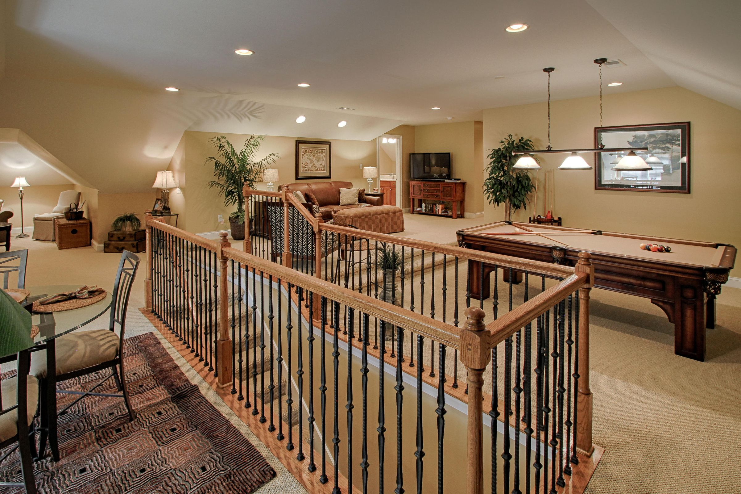 26 - Stairs in Bonus Room offer openess