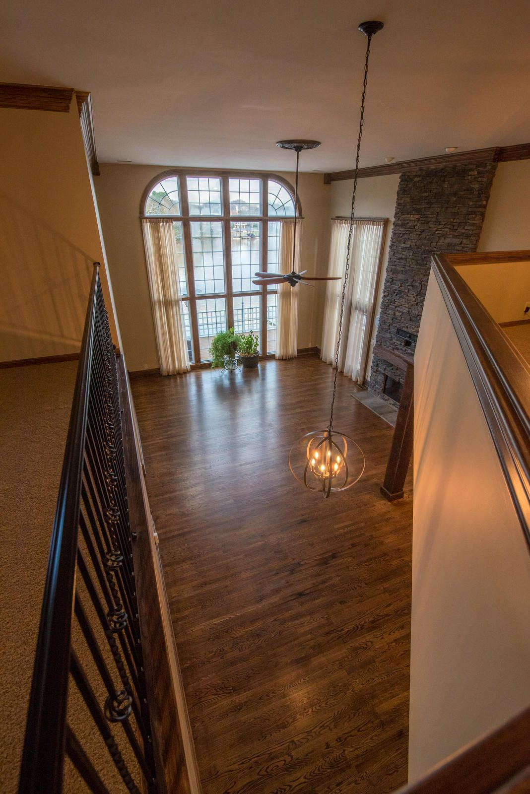 Family Room Viewed from Loft