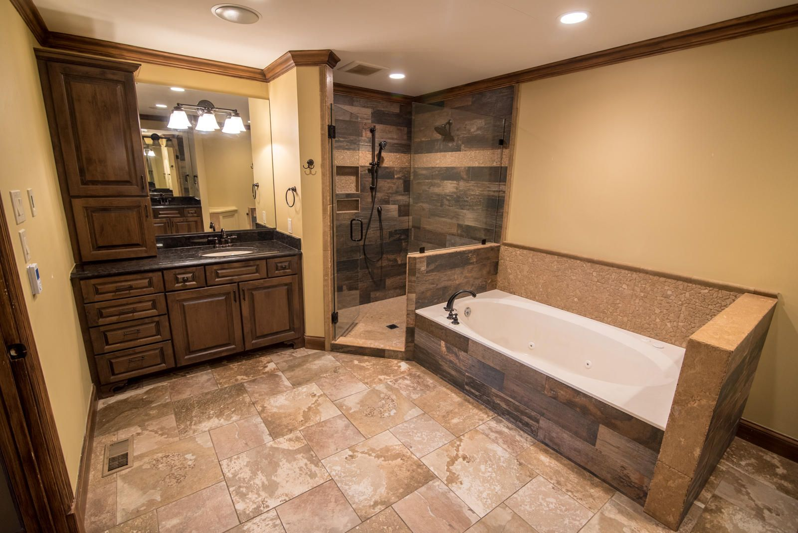Master Bath with Heated Floors