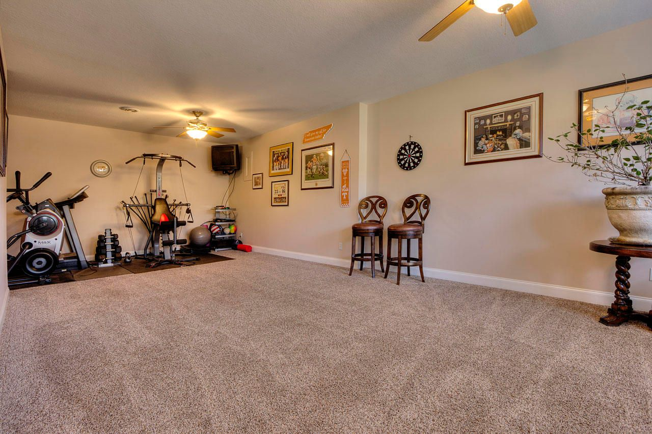 Downstairs Exercise Room