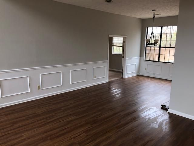 Family Room and Dining Room