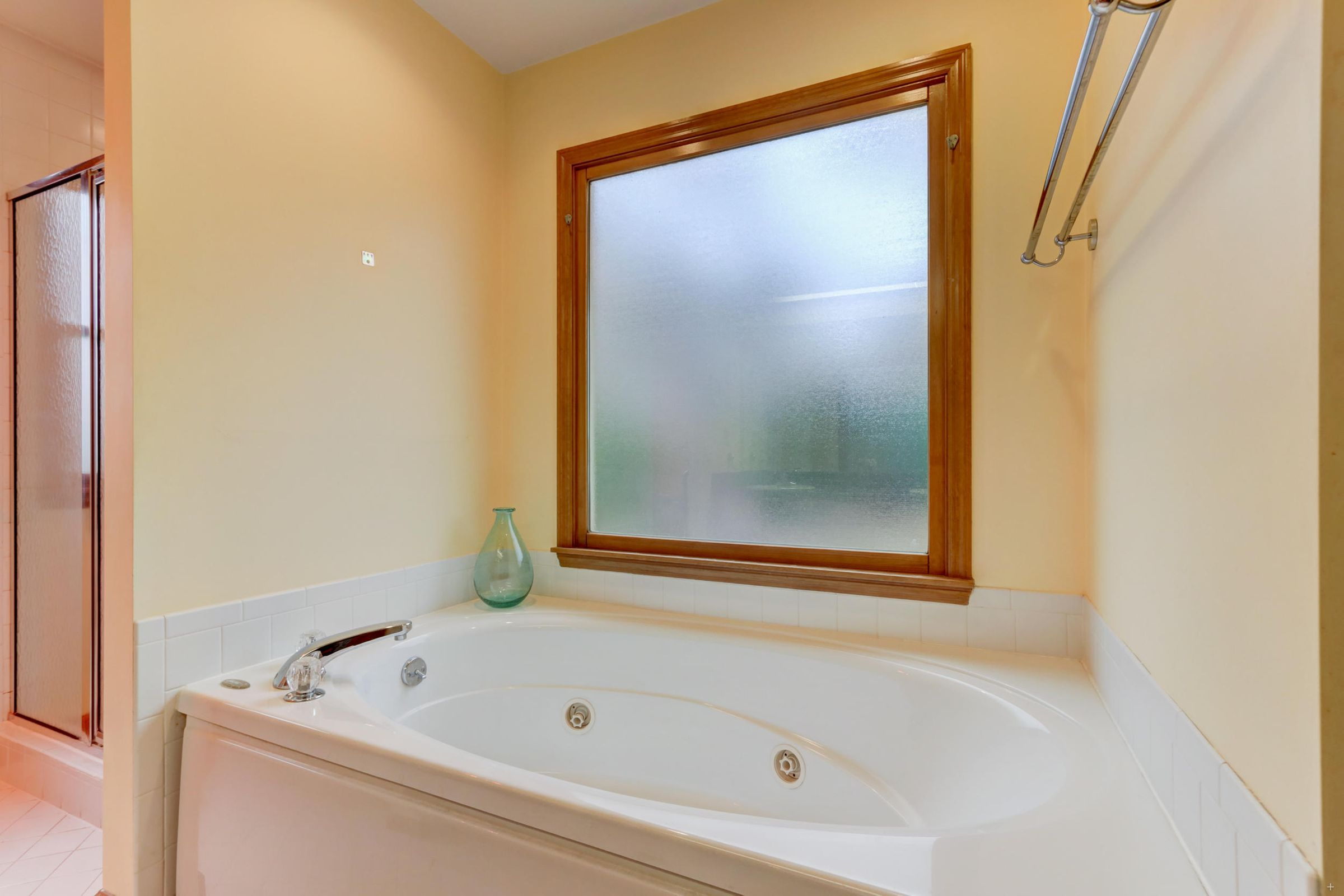 Master en suite jetted tub