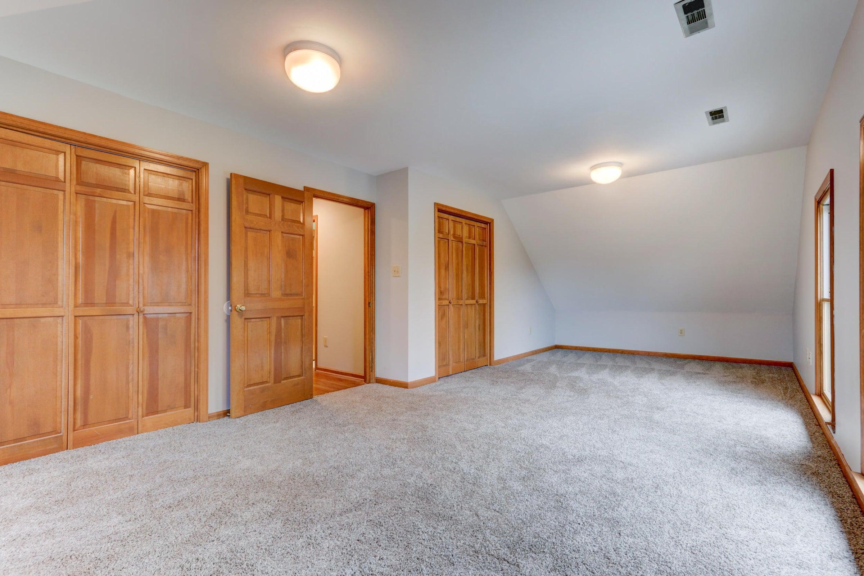 Double closets in bedroom 4/bonus roo,m