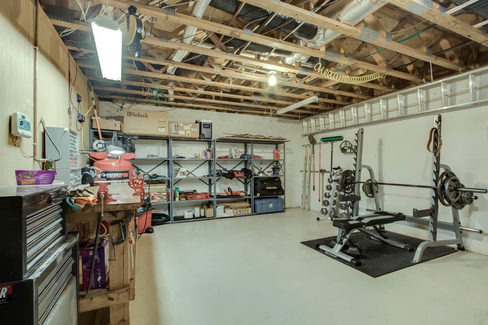 Workshop/Exercise/Storage Room