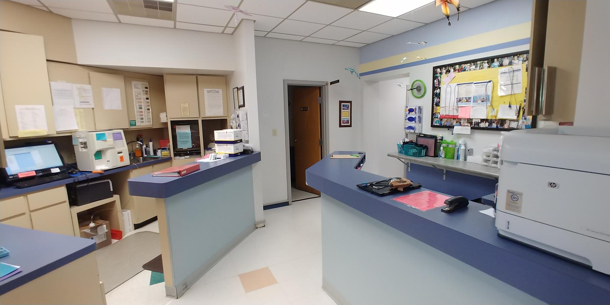 Lab & Nurses Station