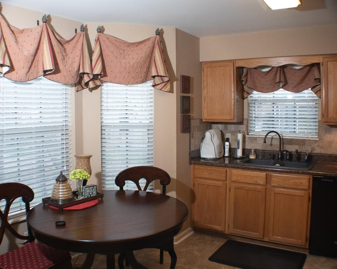 Custom Made Window Treatment to Remain