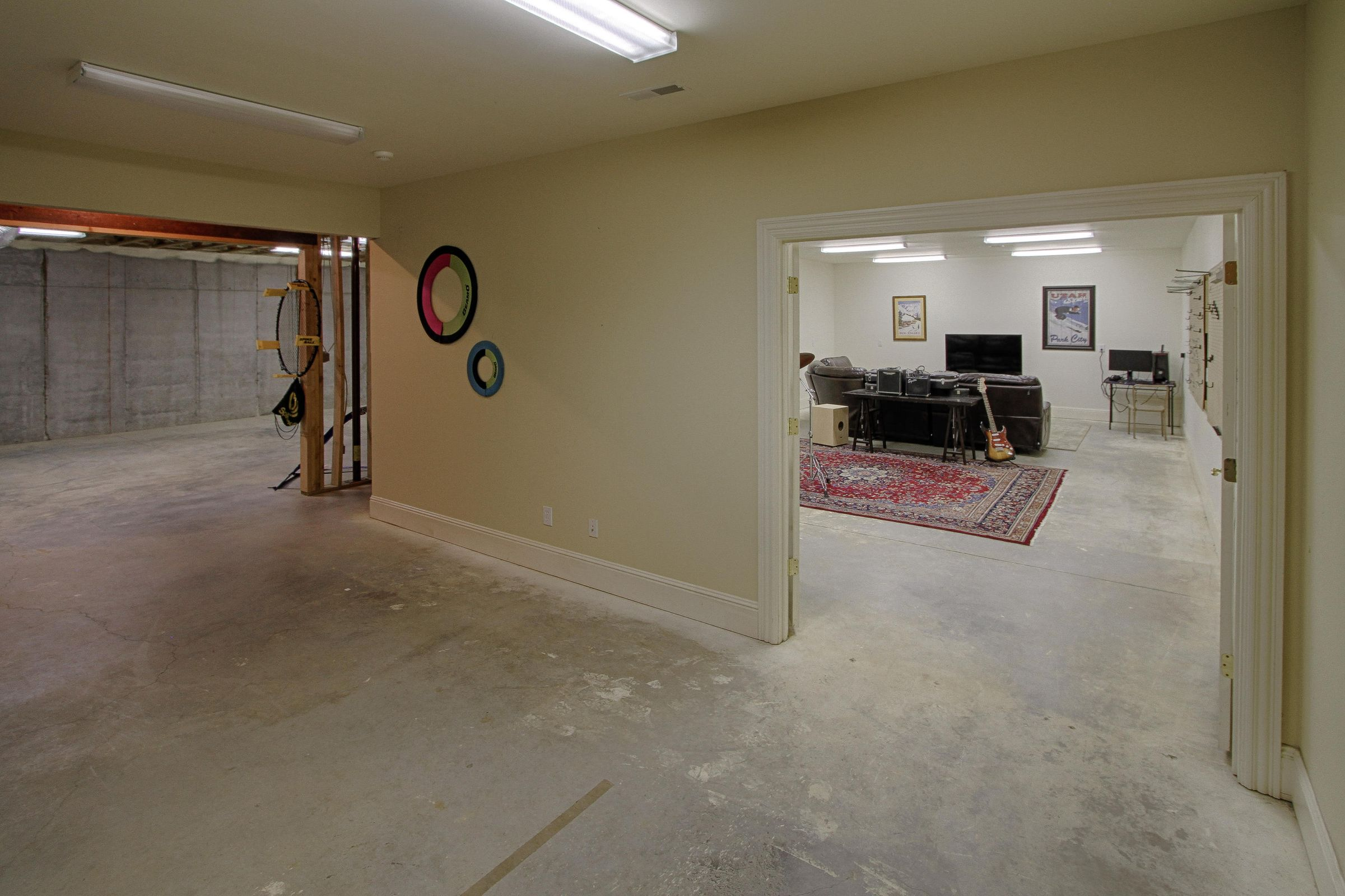 lower level space