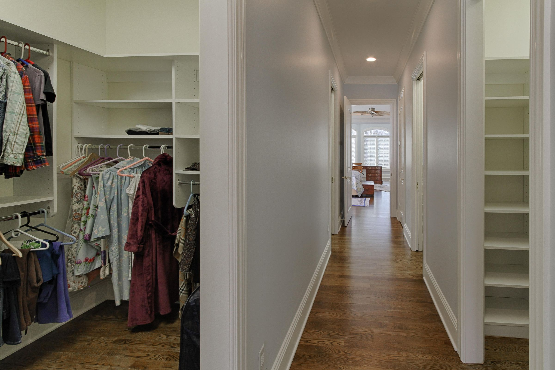 master BR closet space