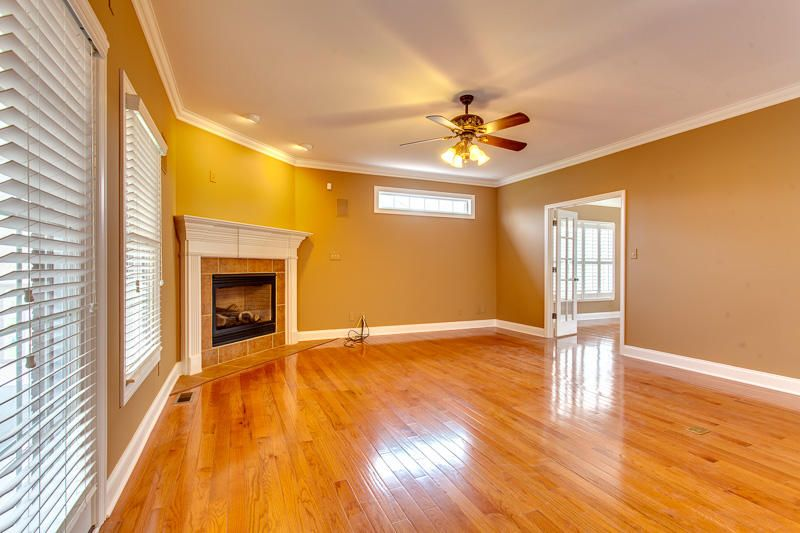 Brand new hardwood floors