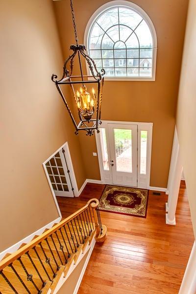 Beautiful 2 Story Foyer