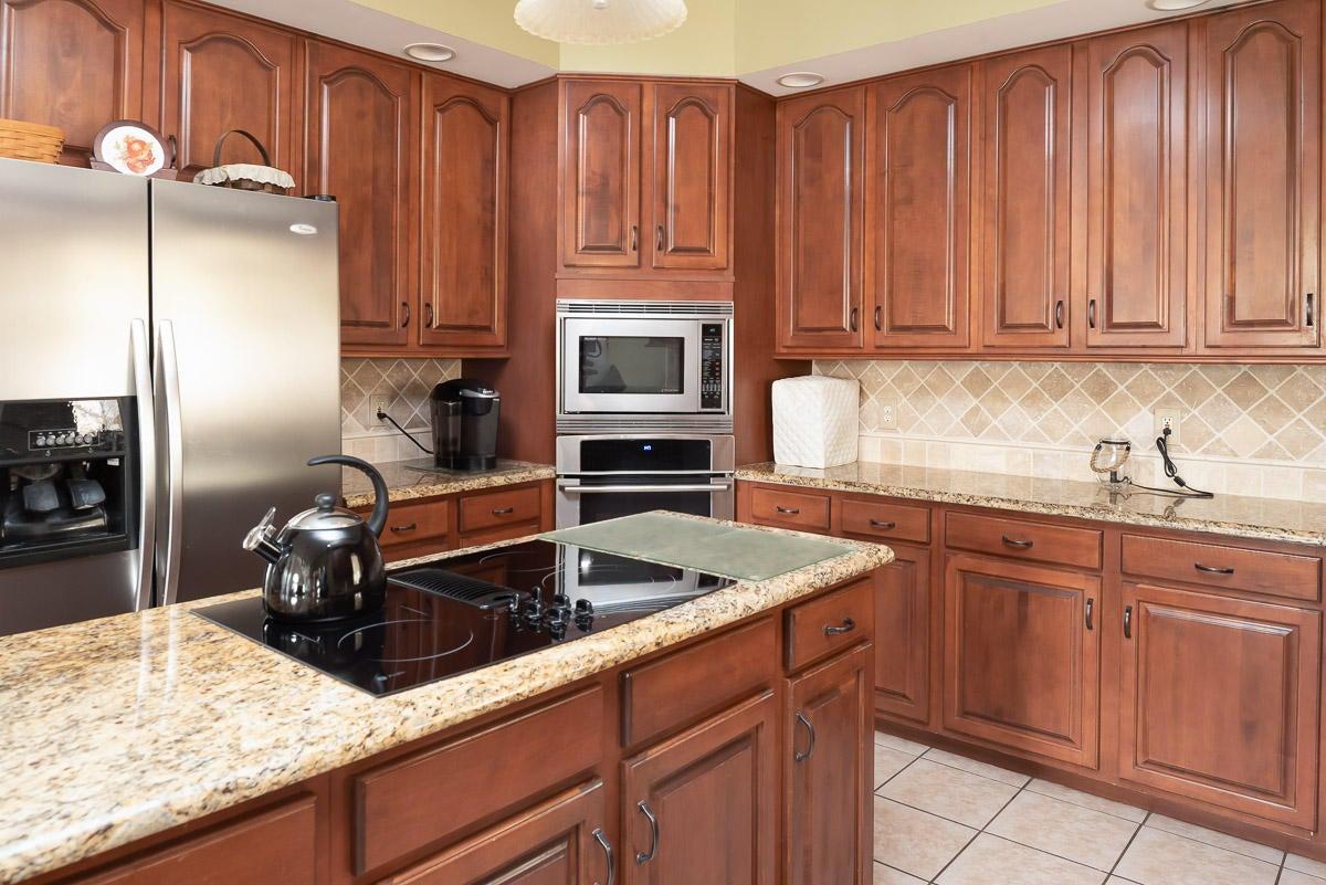 Renovated kitchen...