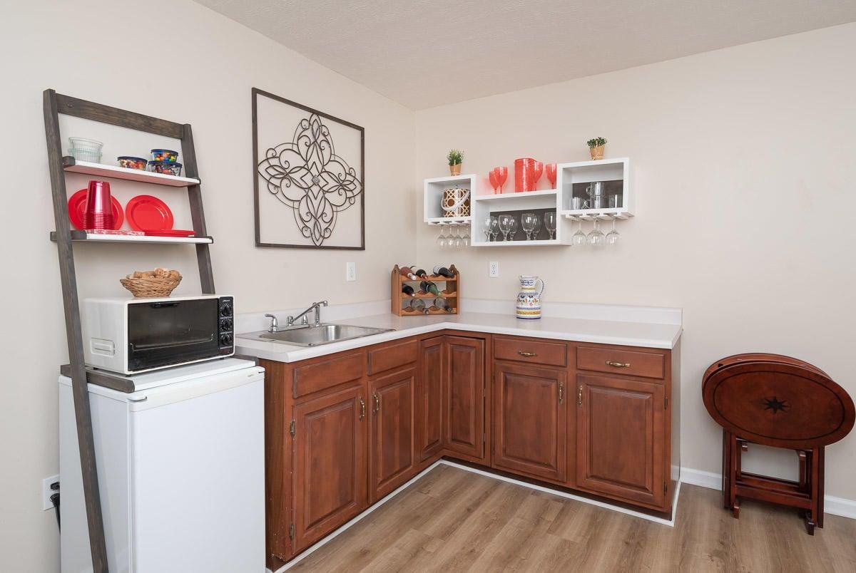 Kitchenette lower level