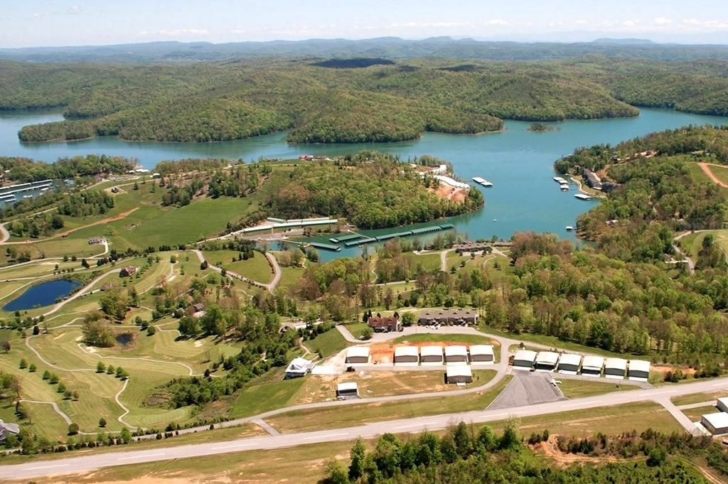deerfield-resort-norris-lake-aerial