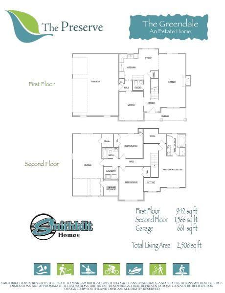 Greendale Floorplan
