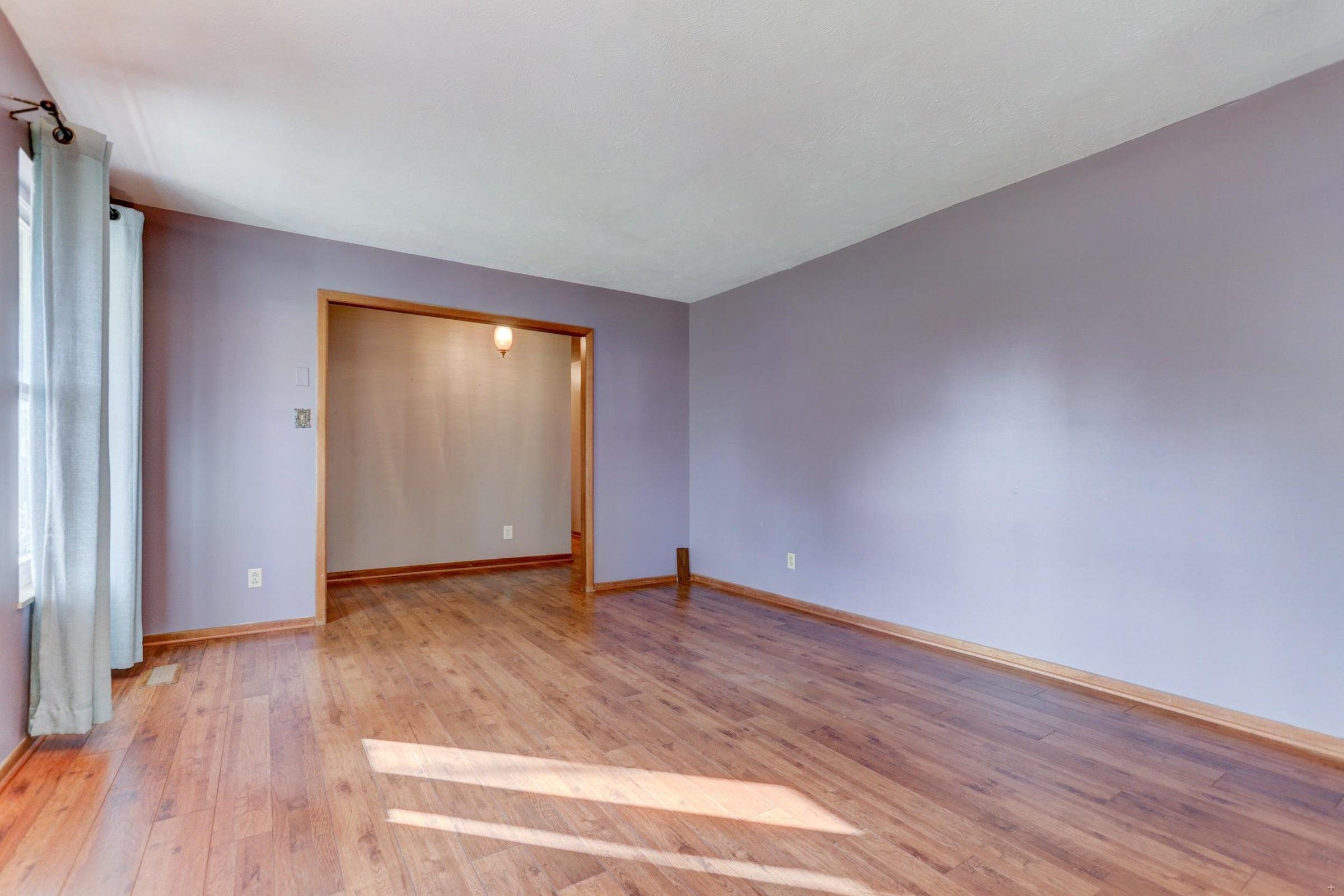 301 Engert Living Room and Foyer