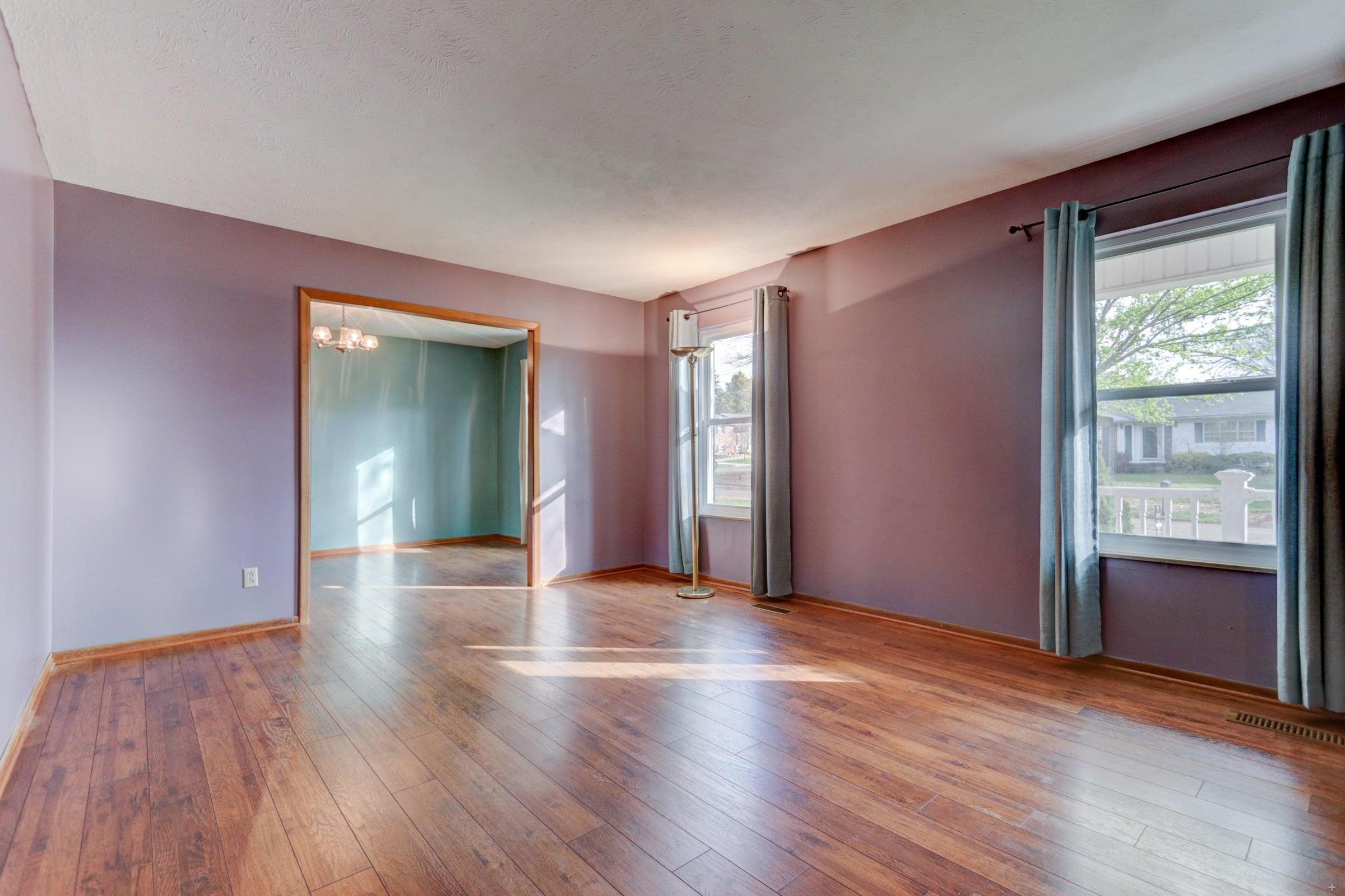 301 Engert Living Room