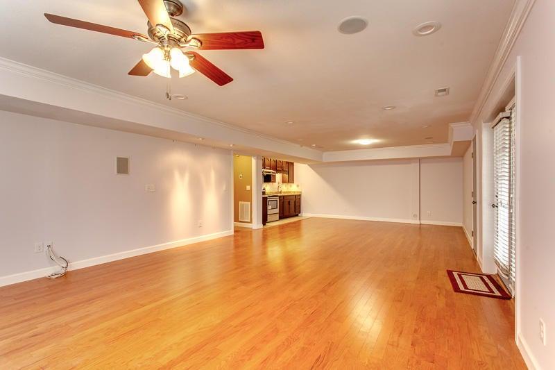 Basement living rm or rec room