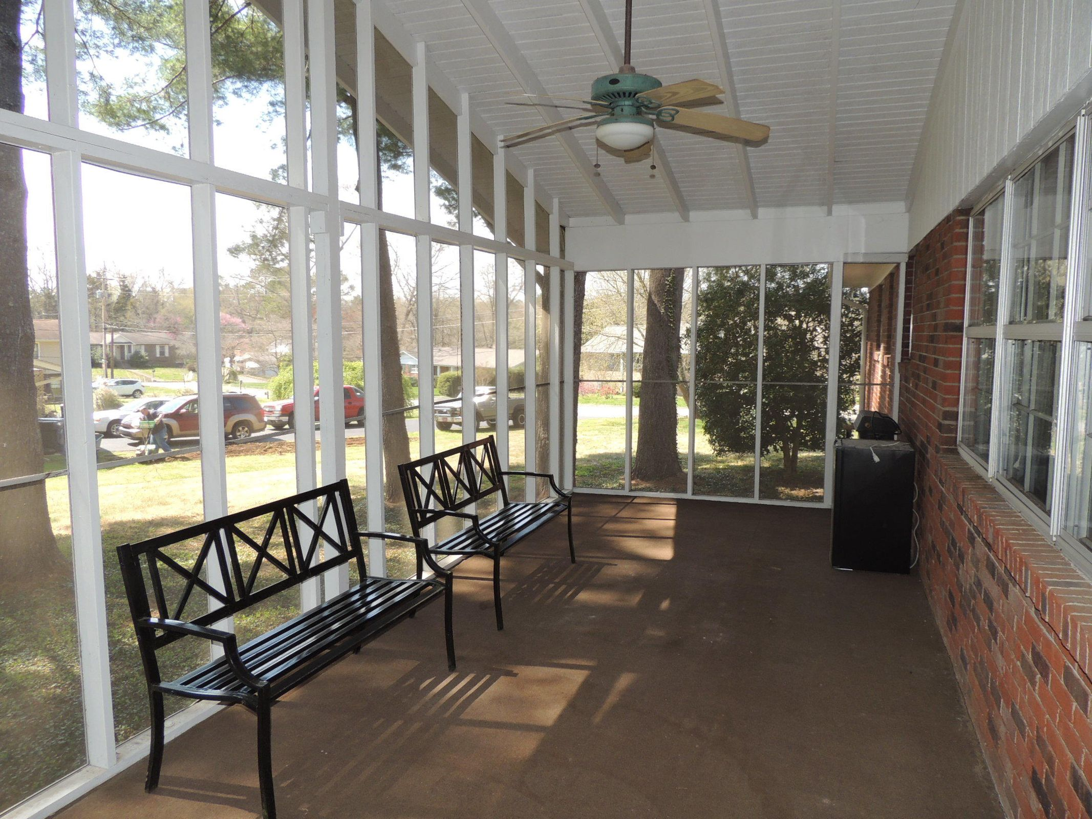 Screened Porch, View 1