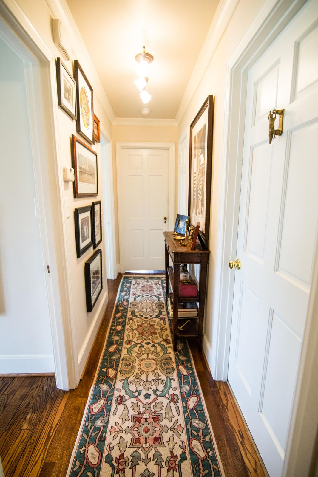 Hallway toward Master