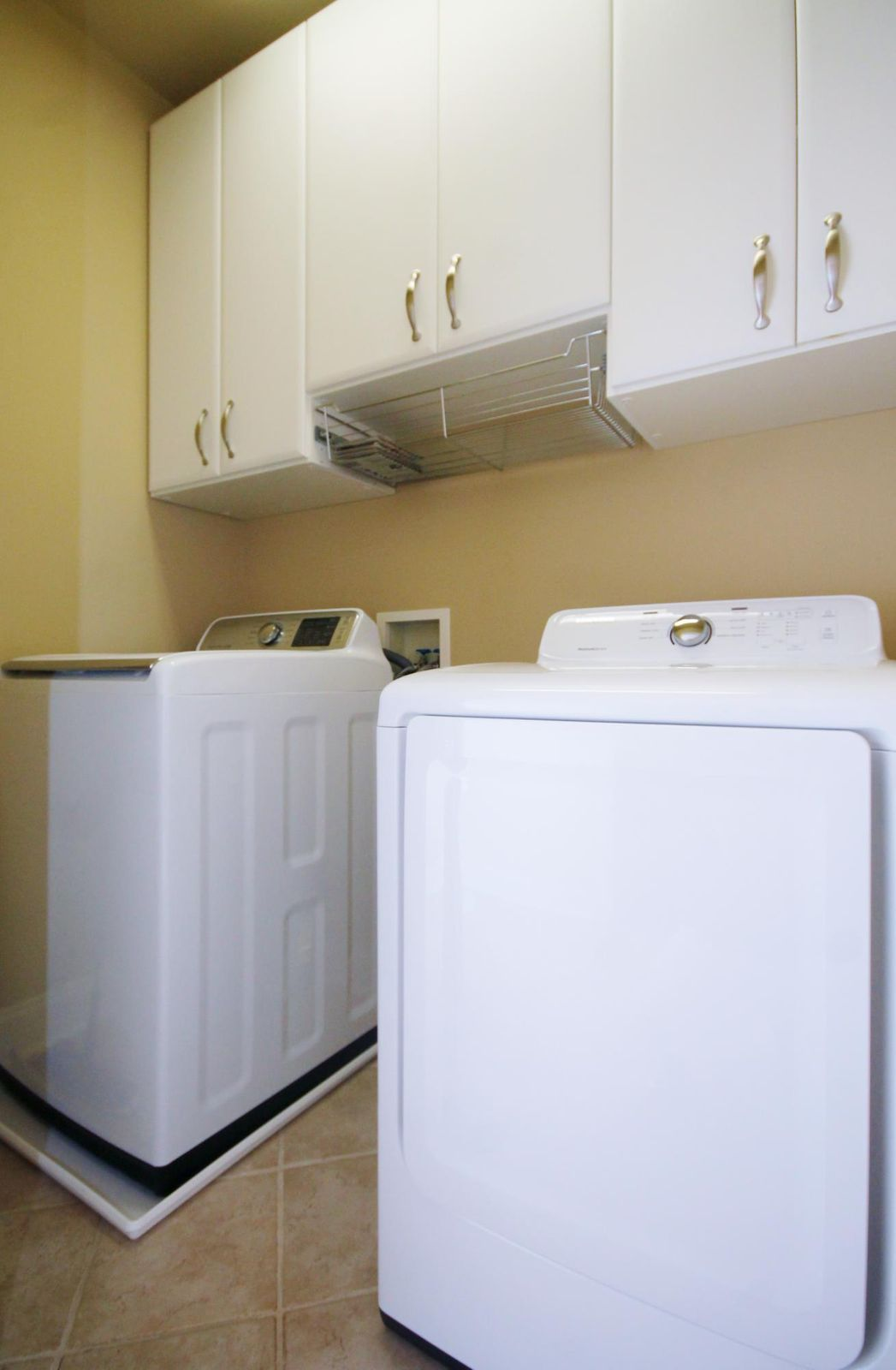 Laundry Room with Pocket Door