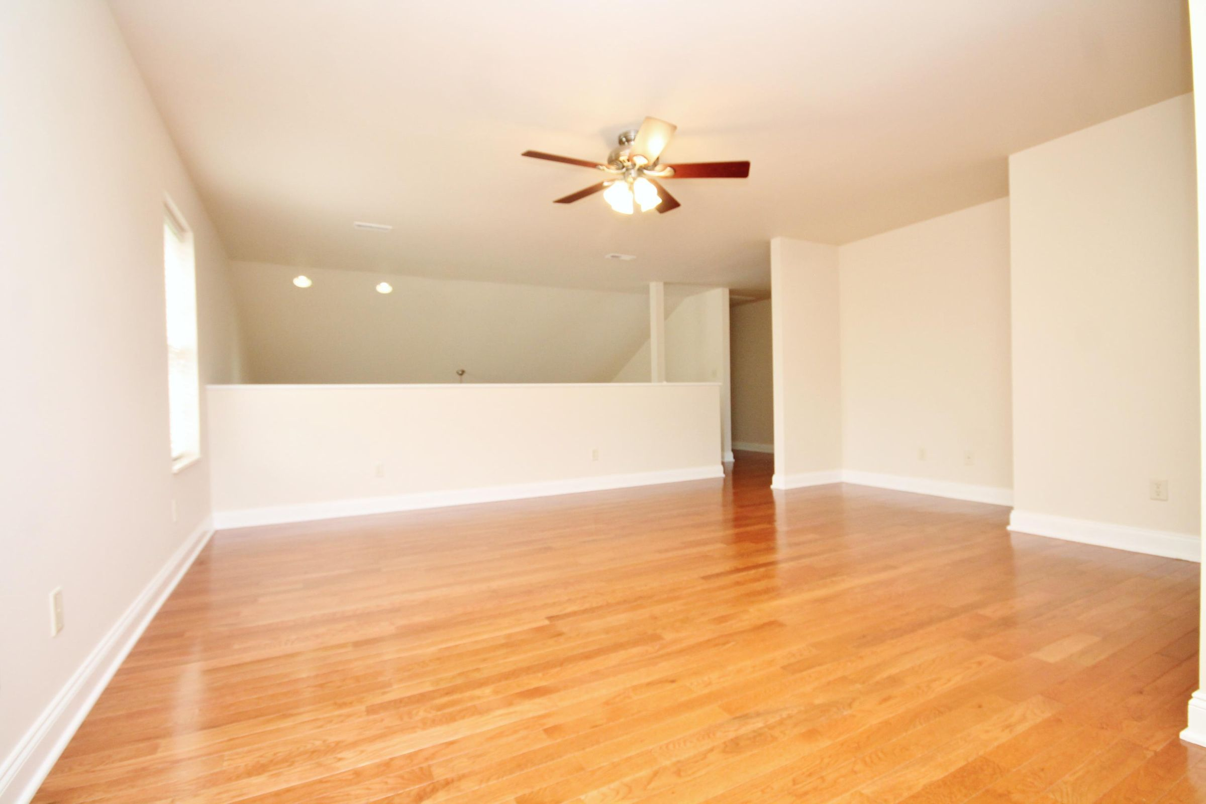 Beautiful Hardwood Floors Upstairs!