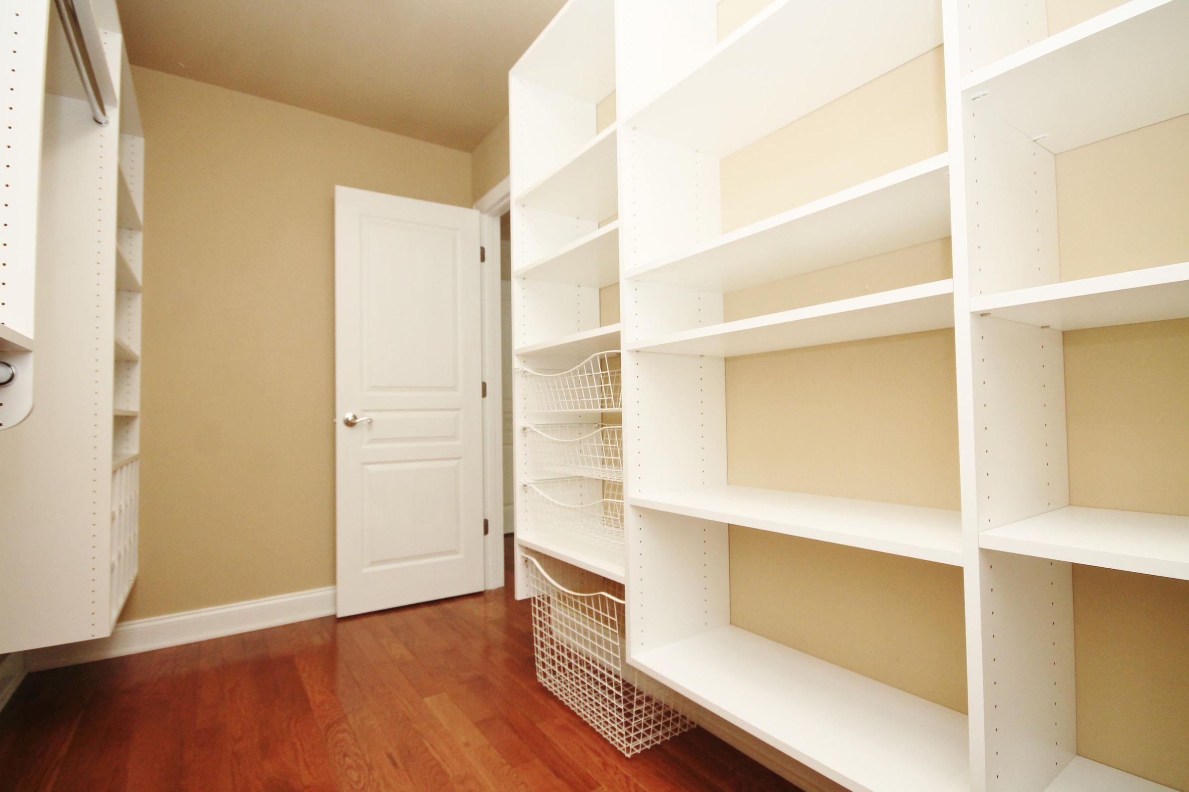 Custom Closet in 3rd Bedroom