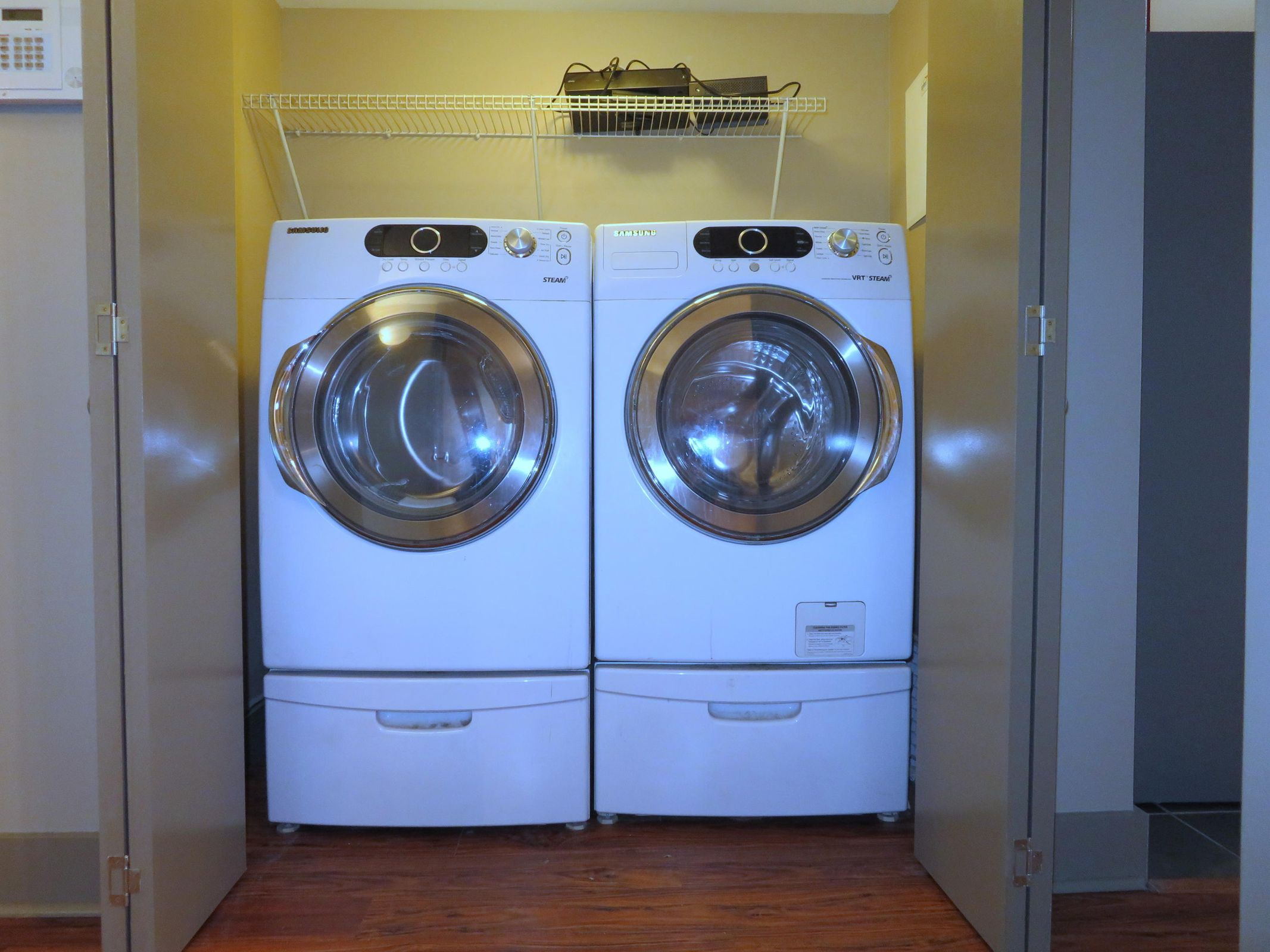 Upgraded Front Loading Washer/Dryer